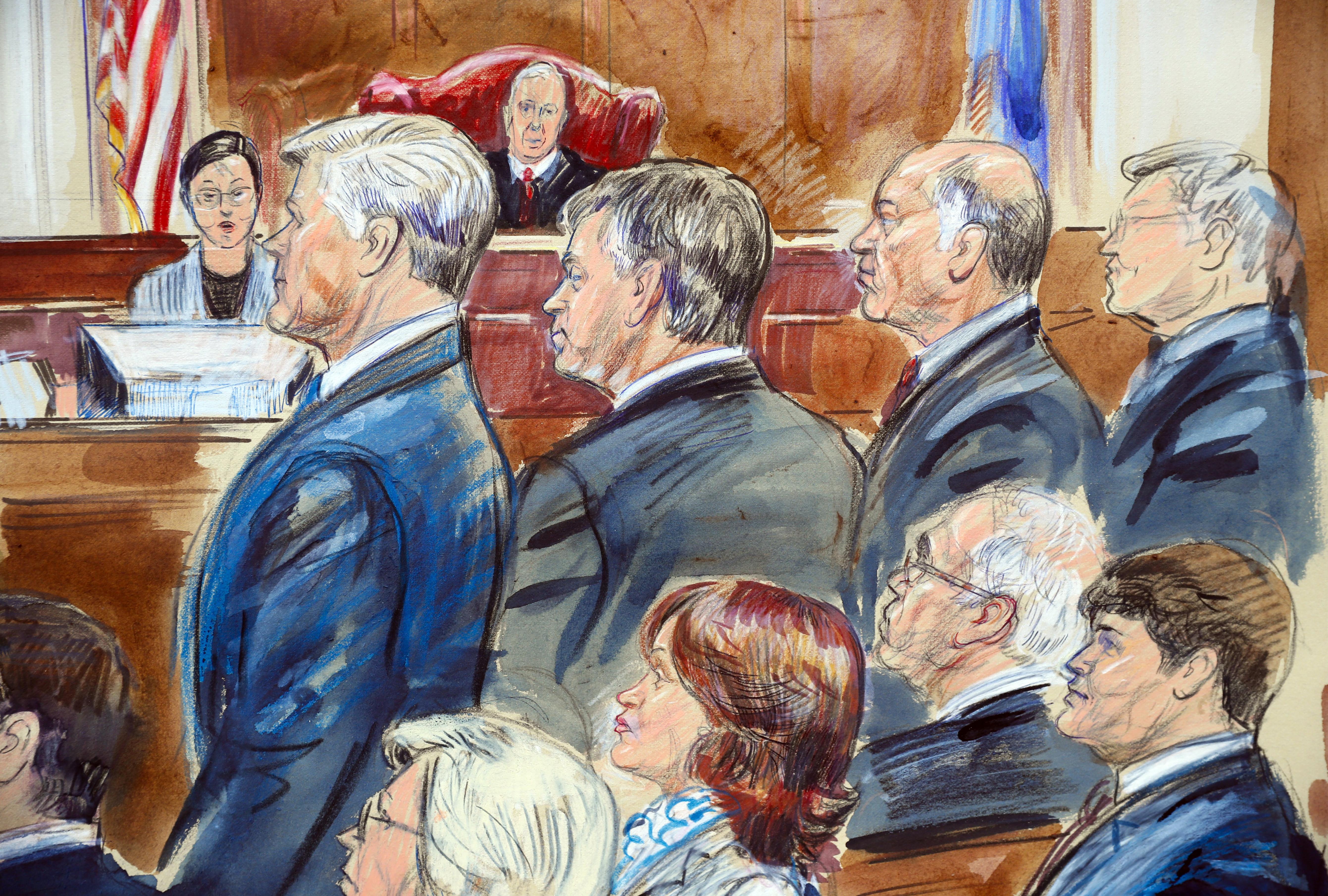 Declaran culpable de 8 cargos a exjefe de campaña de Trump