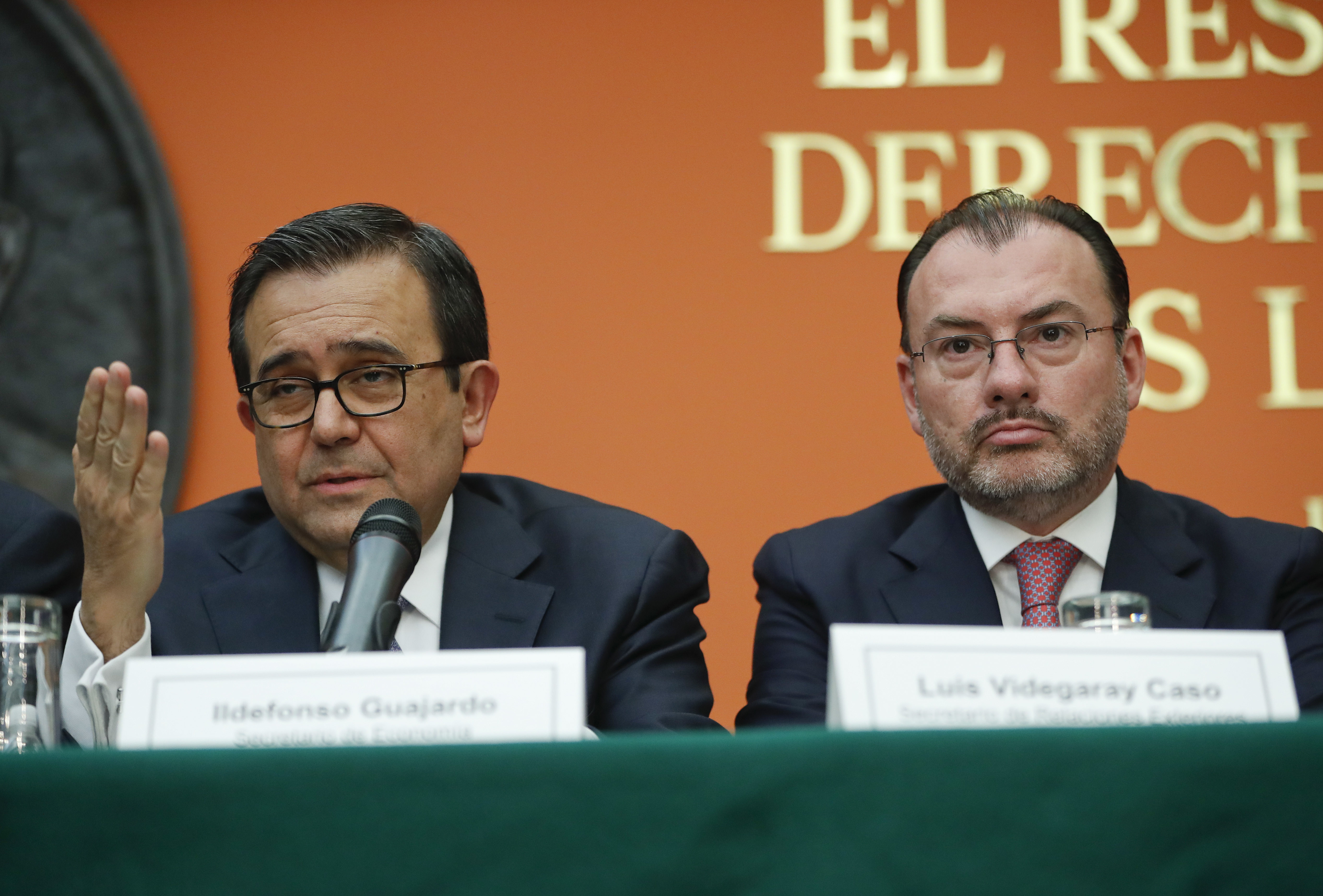 México reitera que no pagará muro fronterizo de Trump