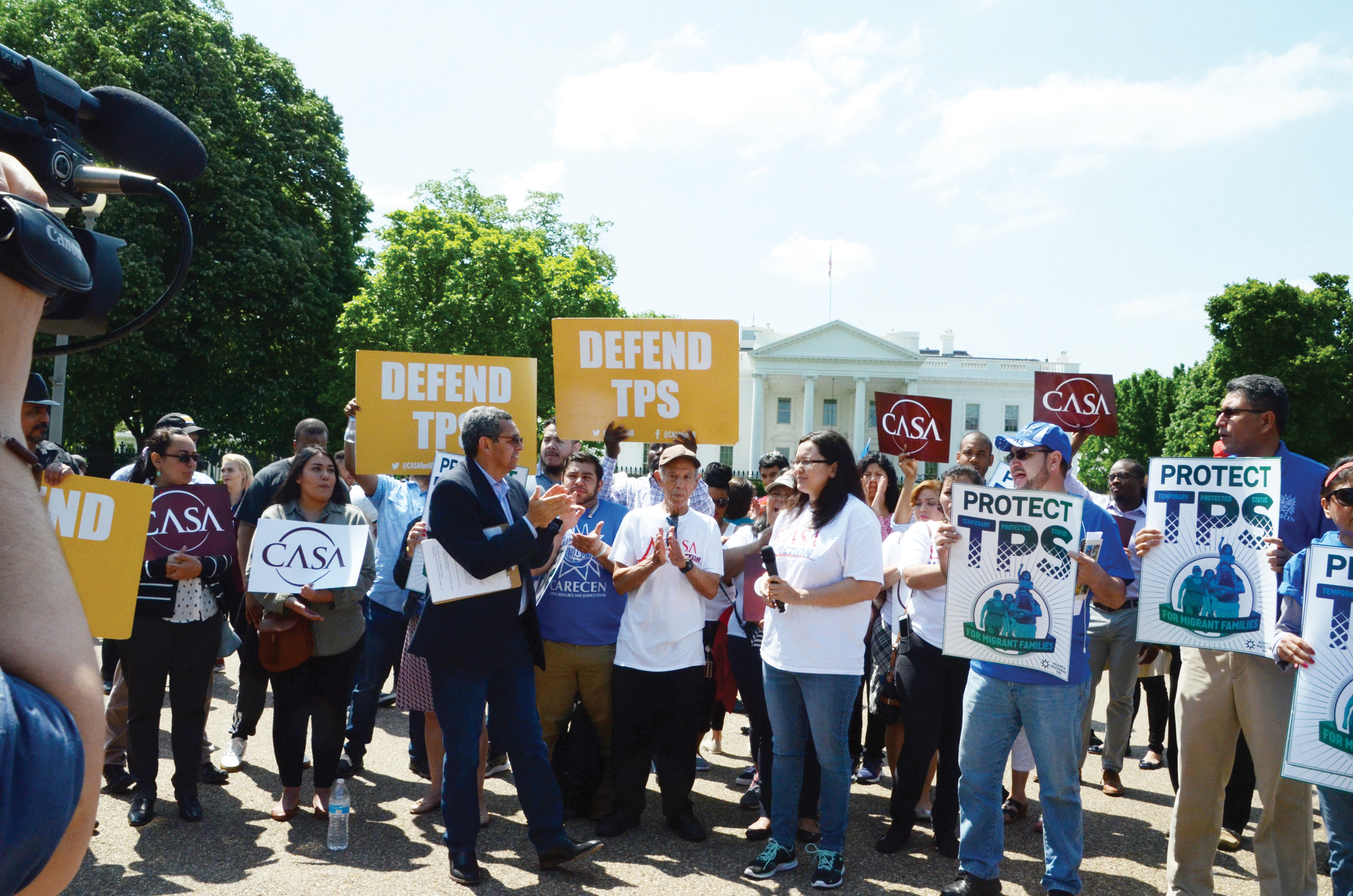 Restitución del TPS  piden 110 legisladores