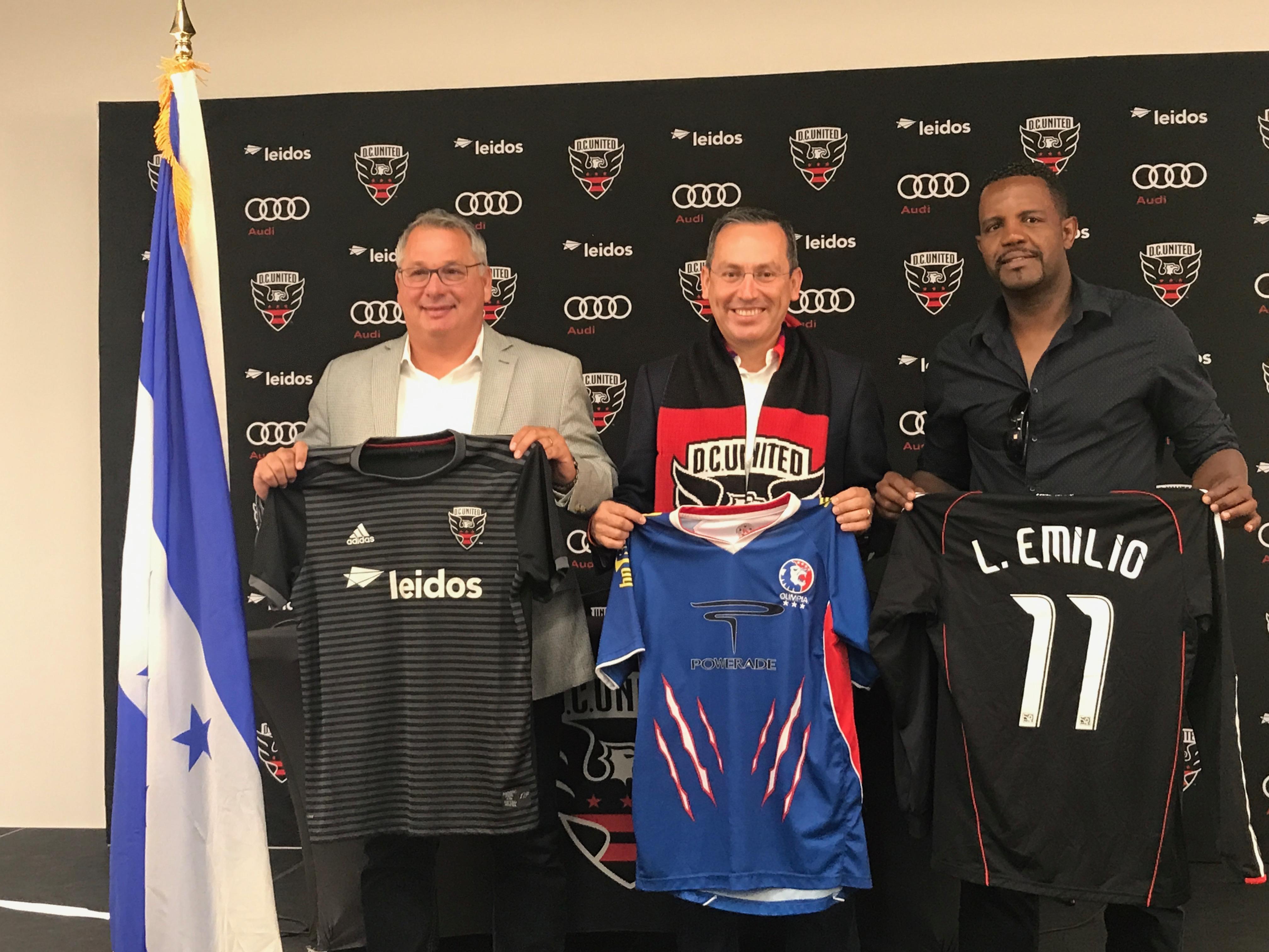 DC United jugará amistoso con el  Olimpia de Honduras