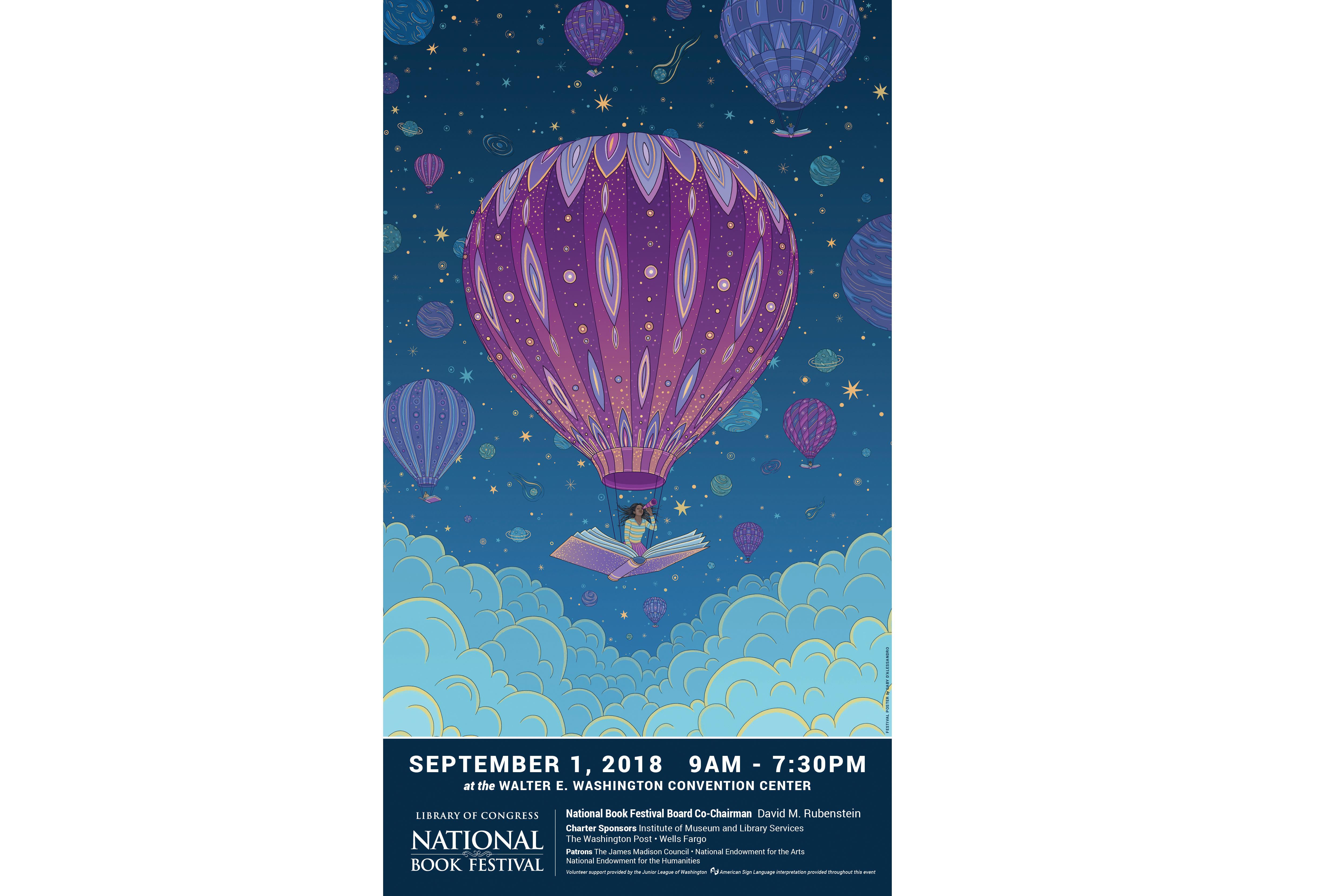 Festival Nacional del Libro de la Biblioteca del Congreso el 1 de septiembre