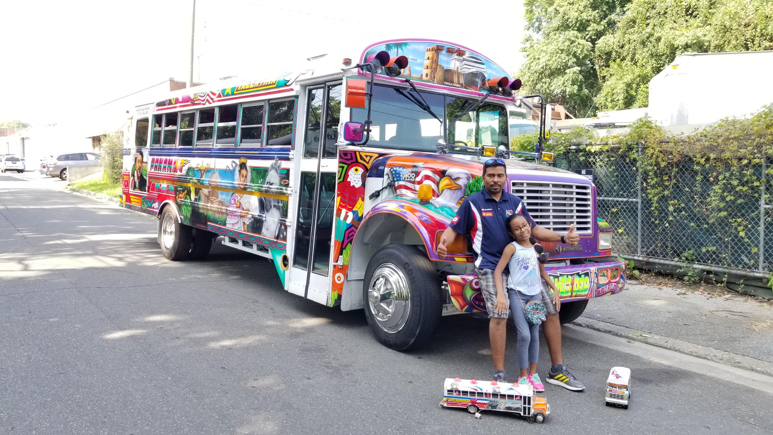 Orgullo panameño sobre ruedas en DC