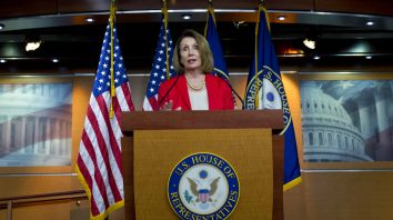 House Minority Leader Nancy Pelosi, D-Calif., speaks during her weekly news conference on Capitol Hill, Thursday, Sept. 6, 2018, in Washington. (AP Photo/Jose Luis Magana)