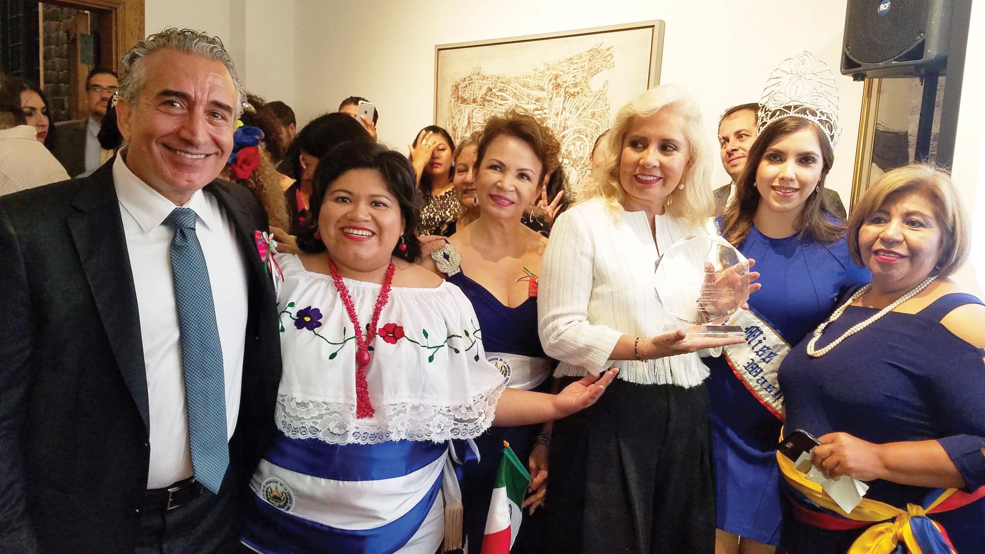 Carla Estrada, productora mexicana, un orgullo latino