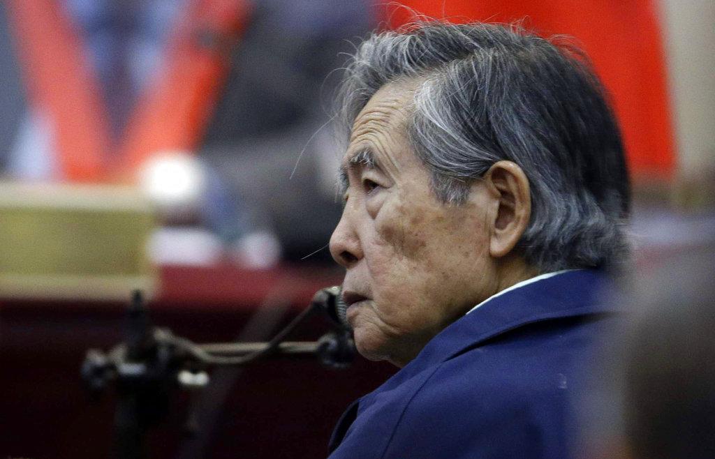 Anulan indulto a expresidente Fujimori en Perú