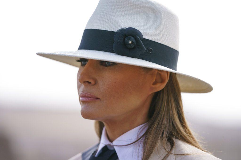"""Melania Trump dice ser la """"persona más acosada del mundo"""""""