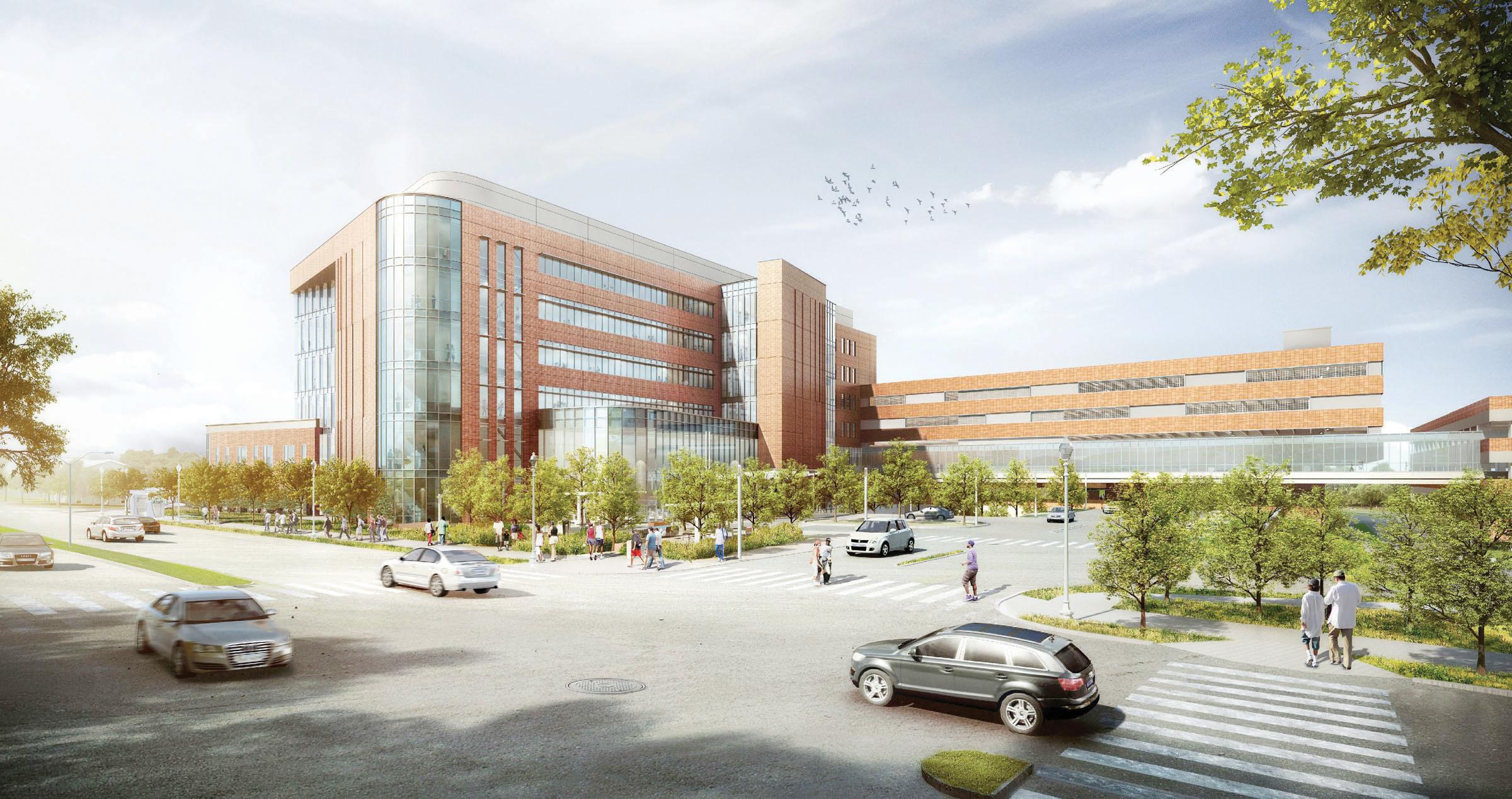 Un gran hospital para Virginia