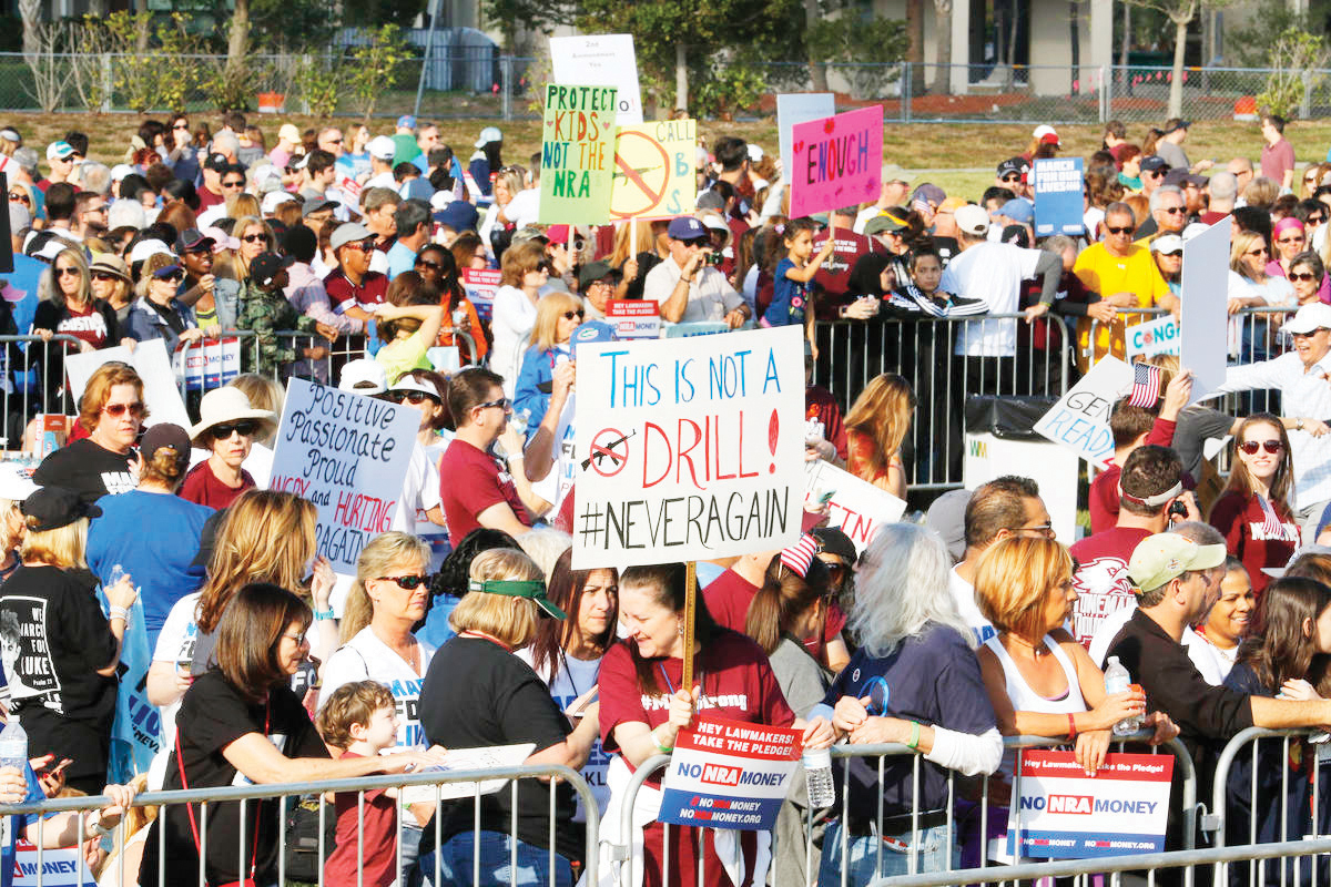 Estudiantes podrían faltar a clases para ir a protestas políticas