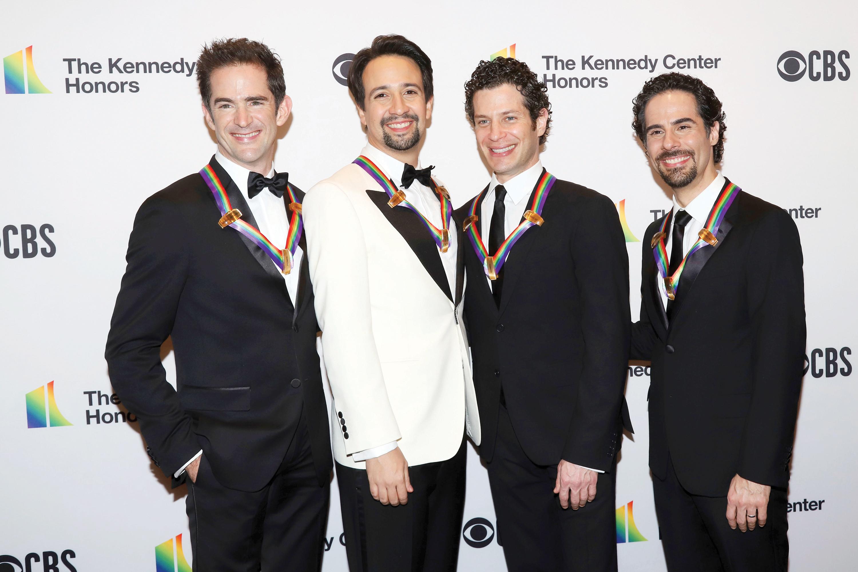 Lin Manuel Miranda recibe  importante medalla del Centro Kennedy