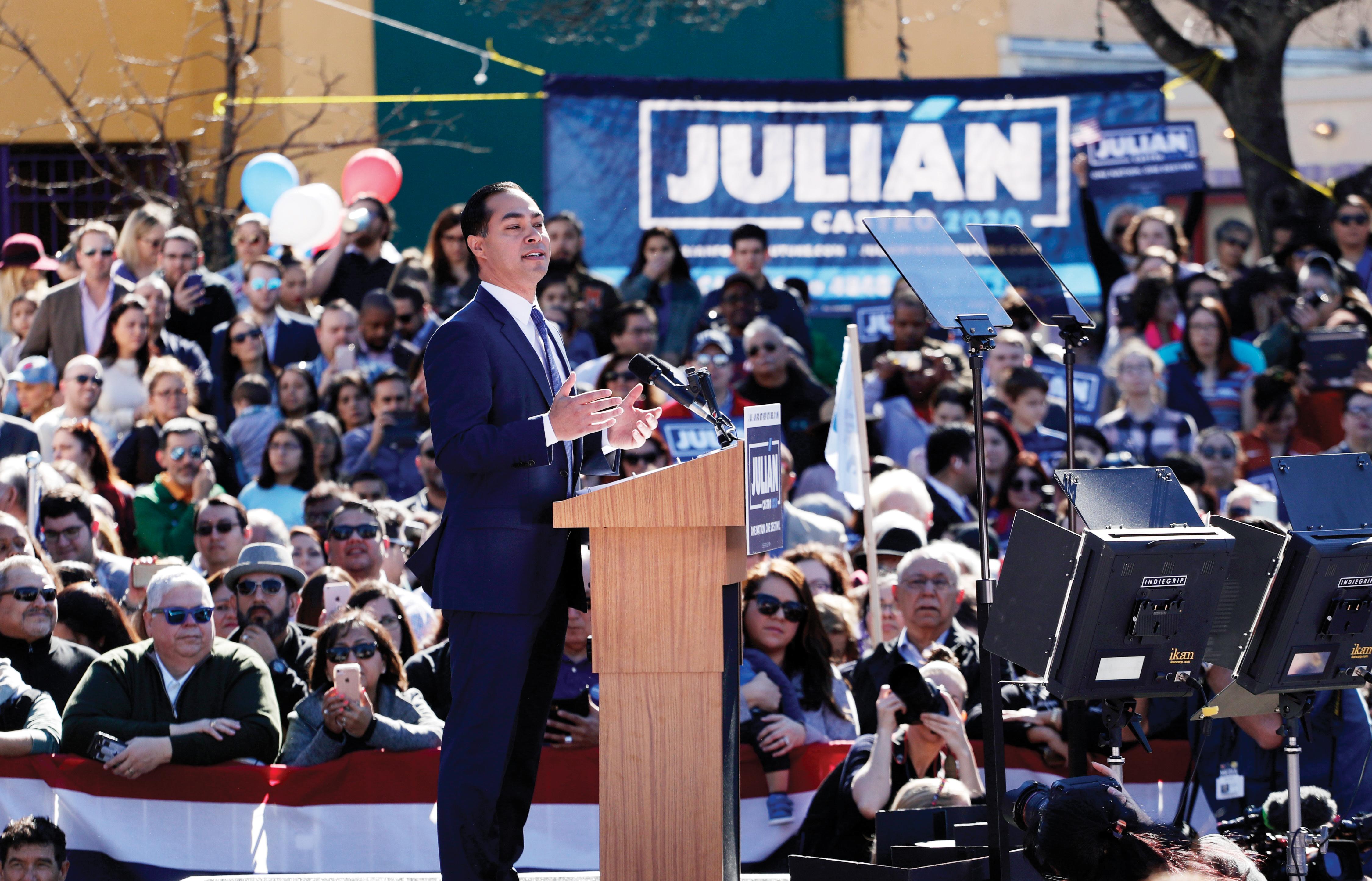 Primer hispano a la presidencia