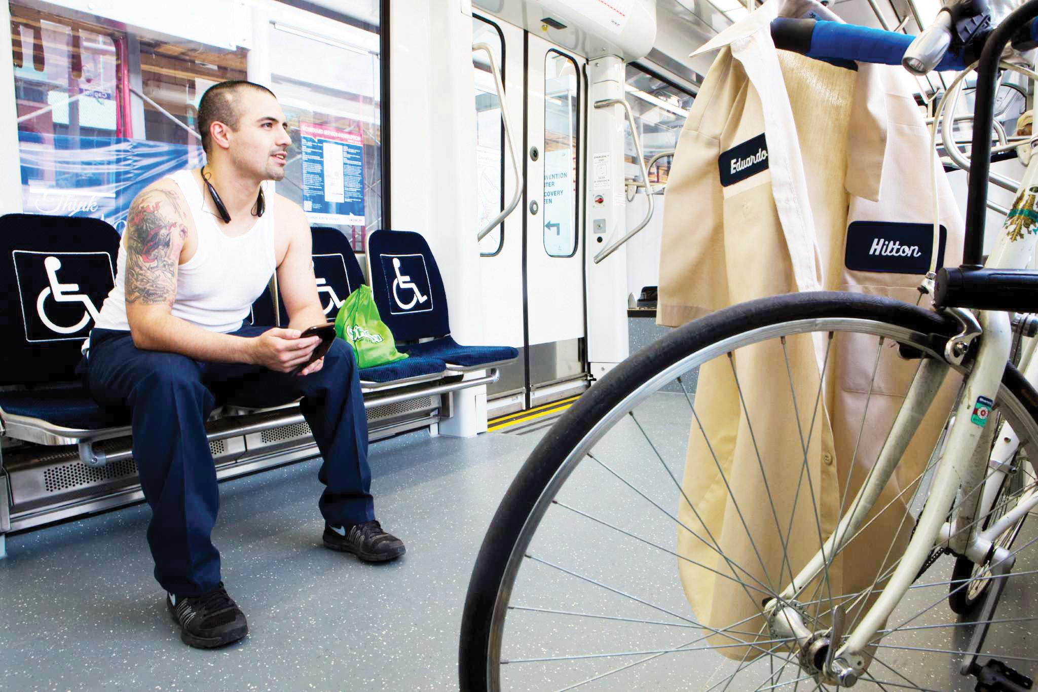 Metro aceptará bicicletas durante horas pico