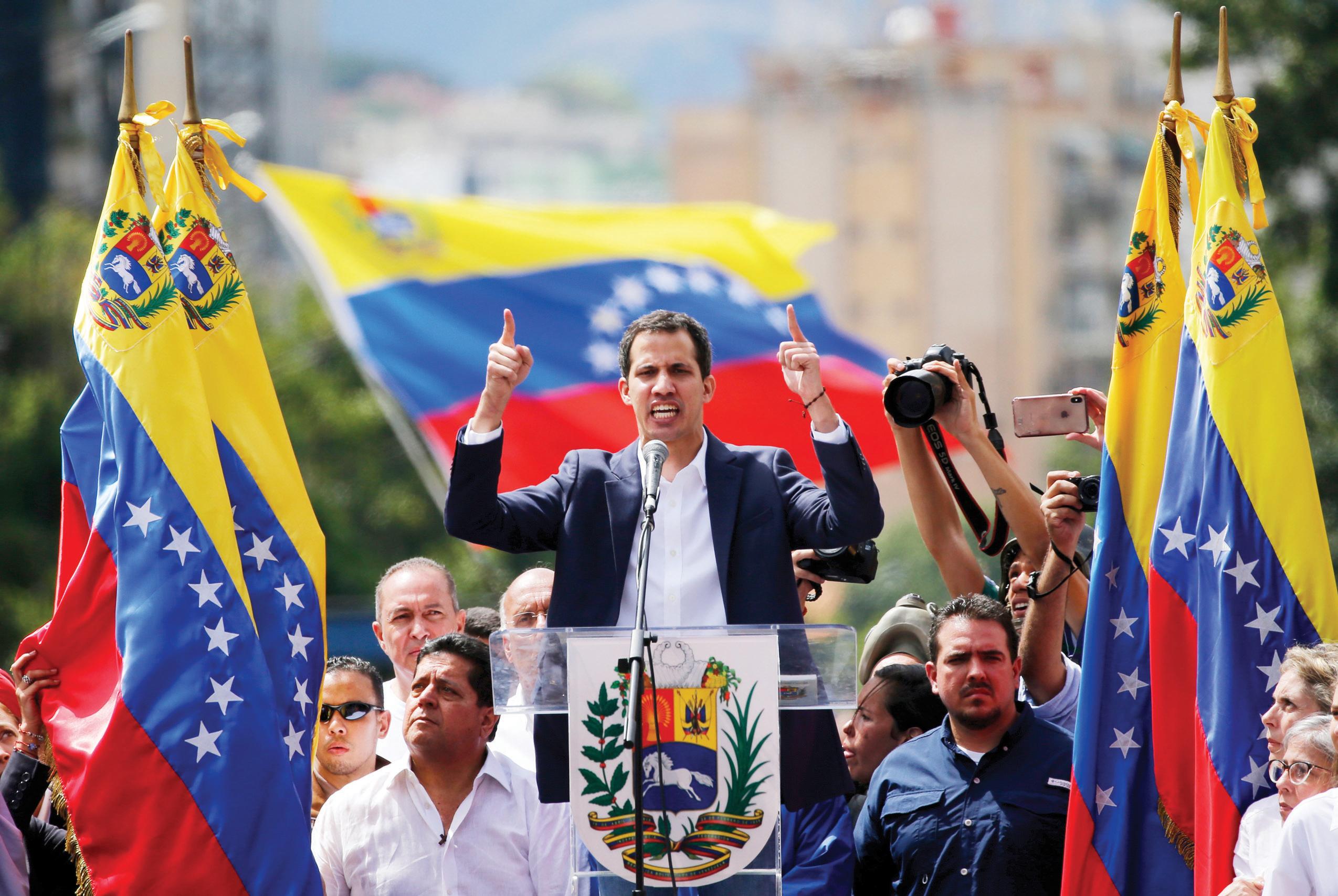 Venezuela tiene nuevo presidente interino