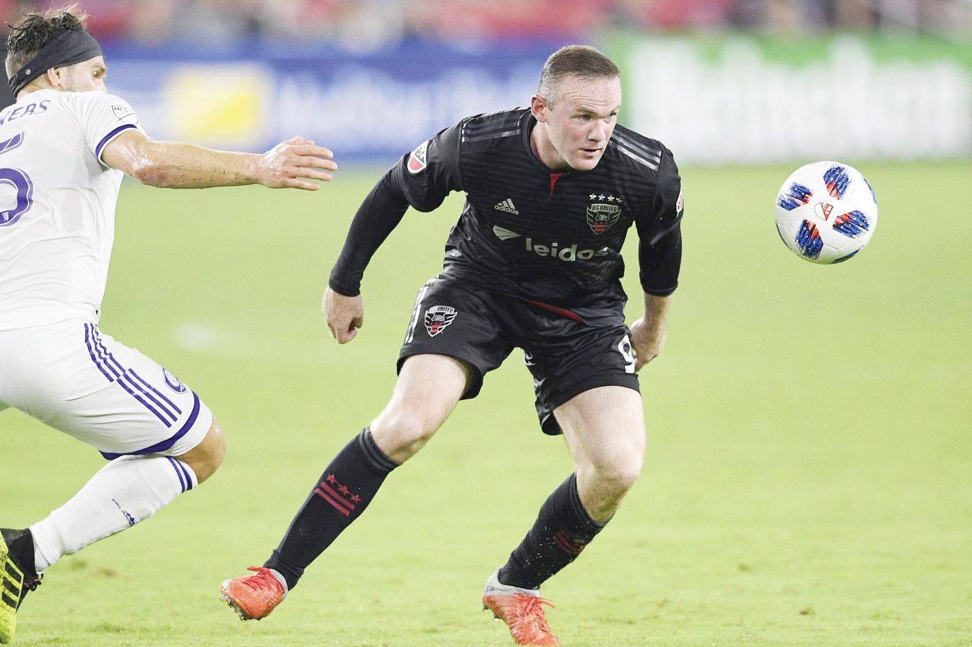 Rooney listo para una temporada más en el DC United