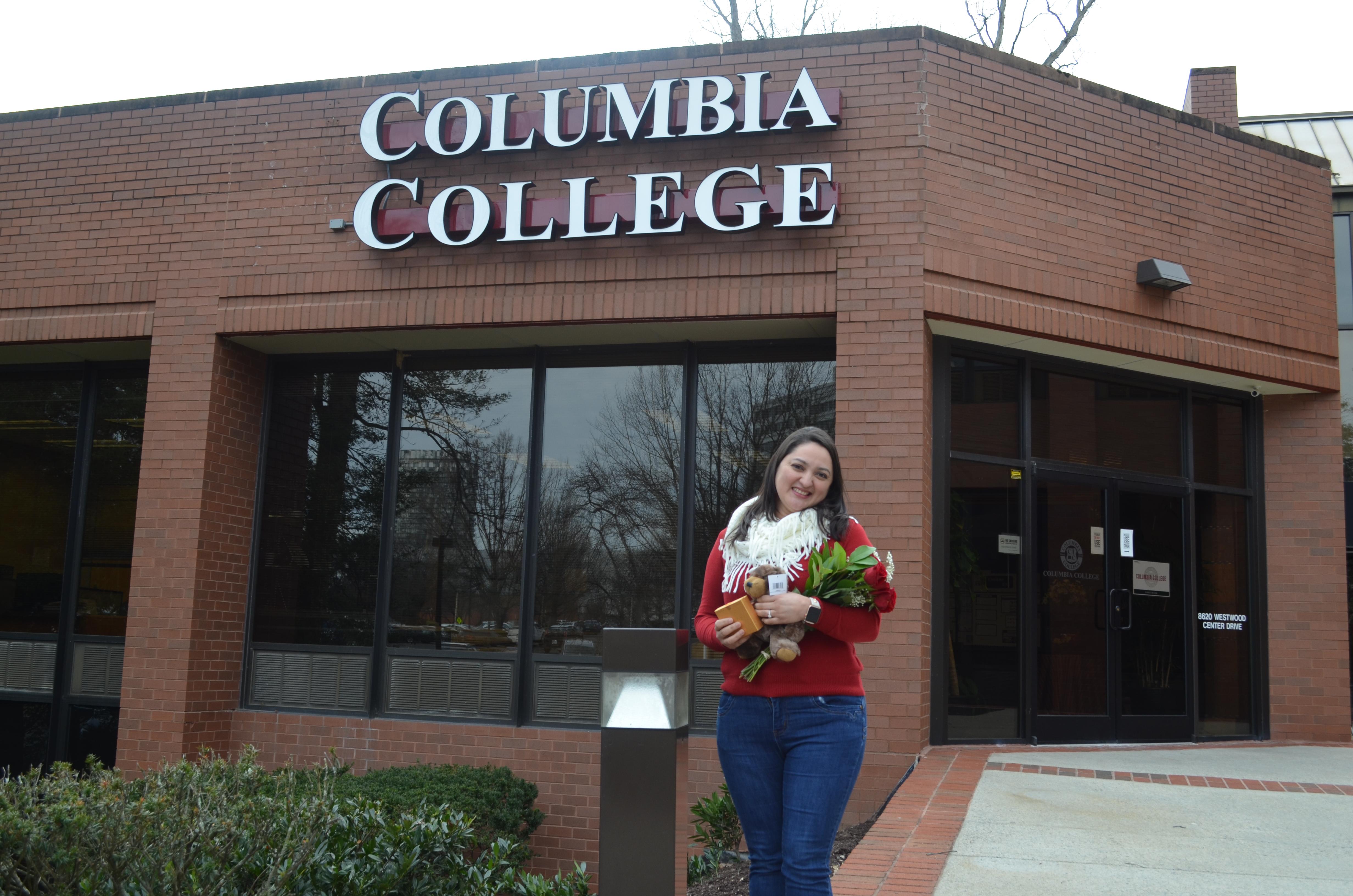 La historia Ingrid Rodríguez en Columbia College