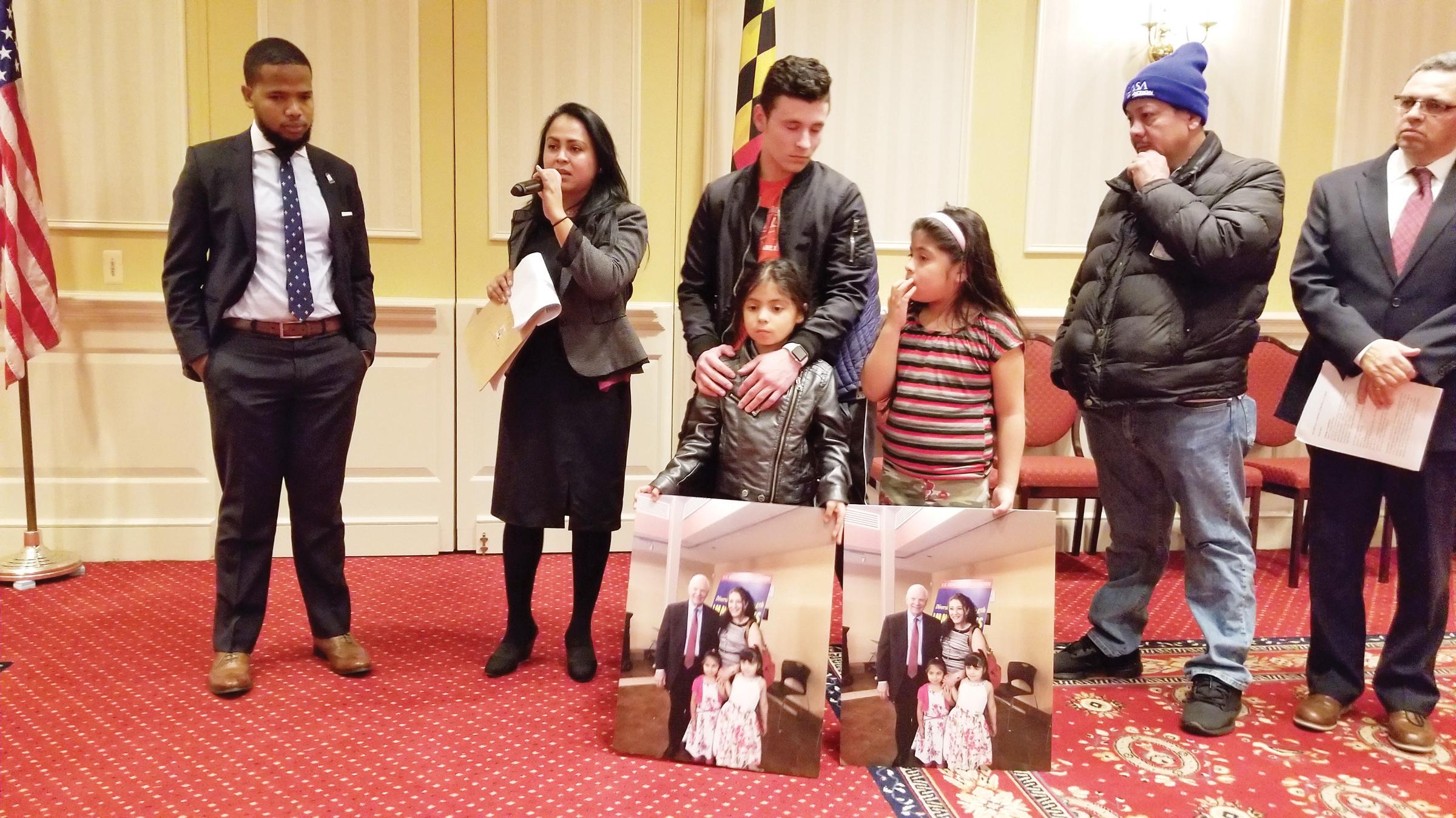 Piden a legisladores de Maryland que aboguen por detenidos de ICE