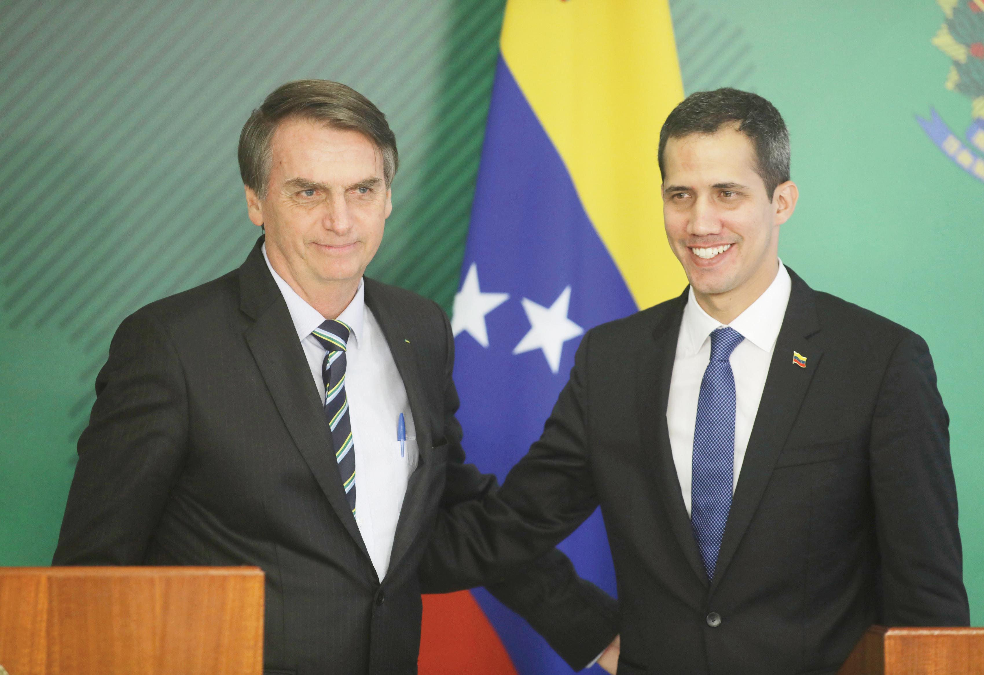 Guaidó viaja a Brasil para reunirse con Bolsonaro