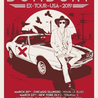 BUNBURY EX TOUR USA 2019