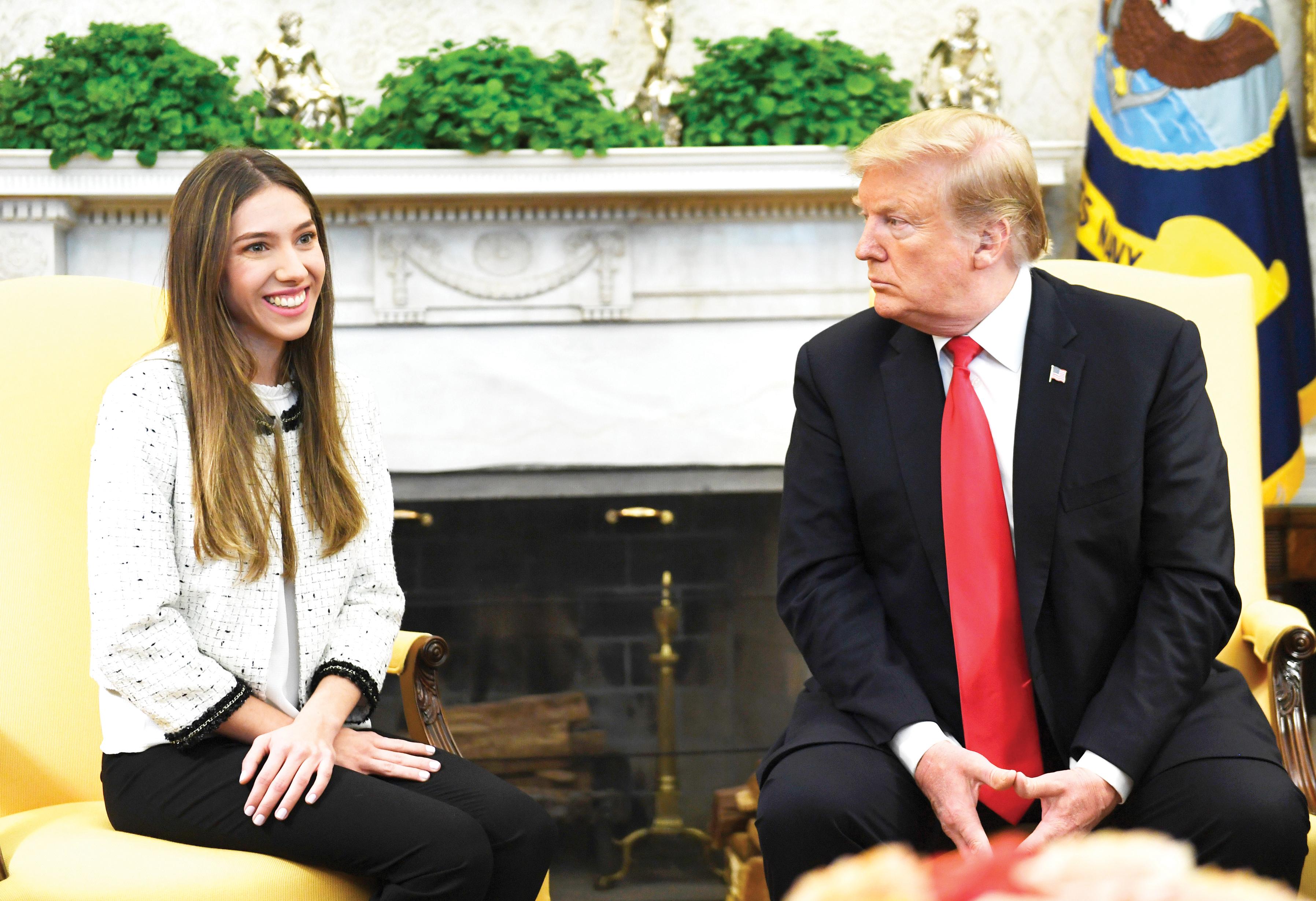 Esposa de Guaidó brilla en la Casa Blanca