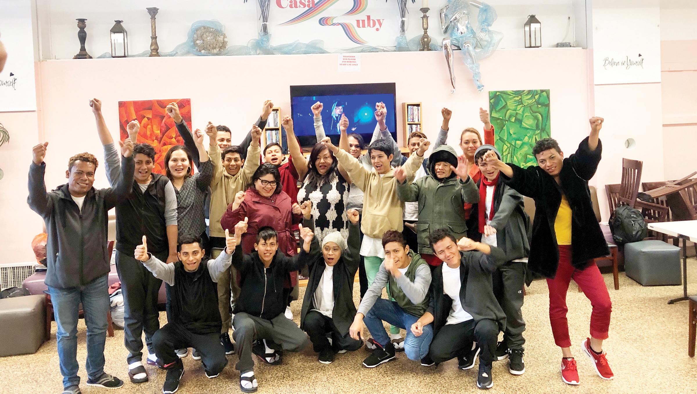 Casa Ruby trae a 15 migrantes LGBT