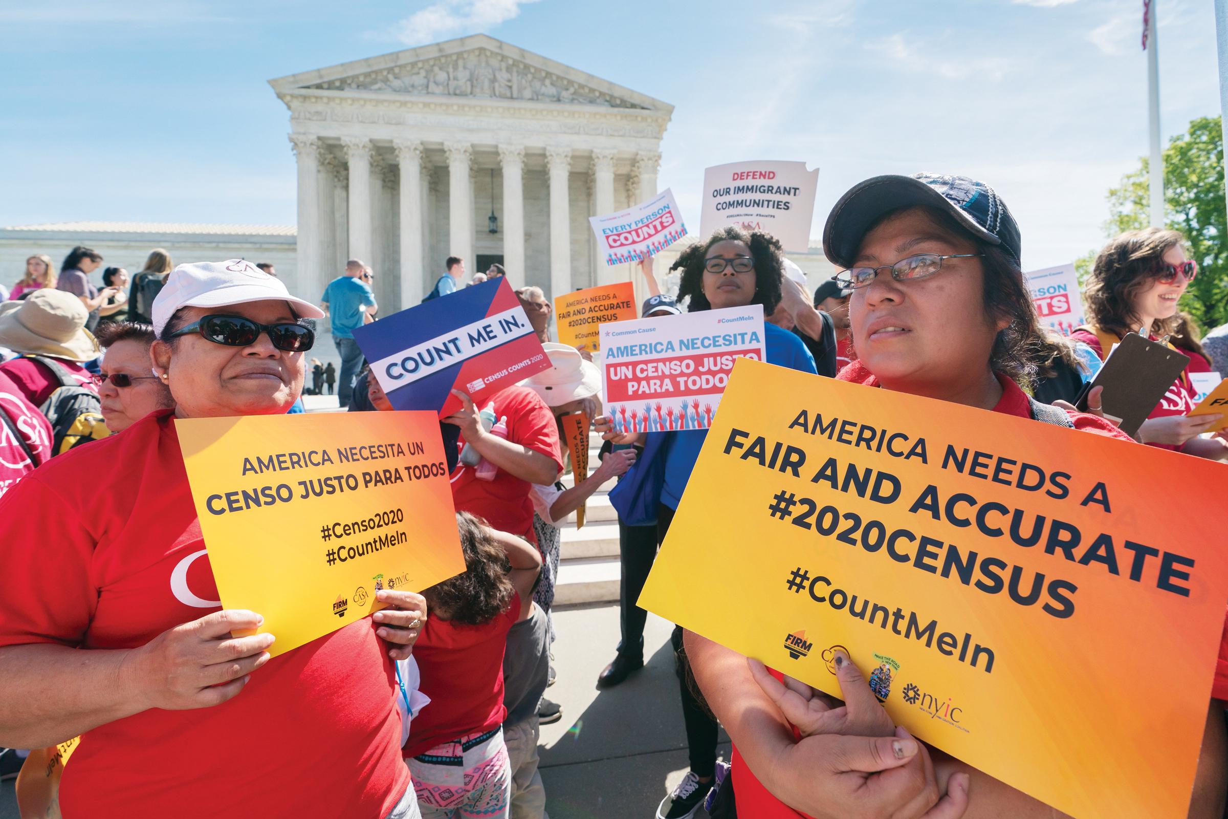 Suprema aprobaría pregunta sobre ciudadanía en el Censo