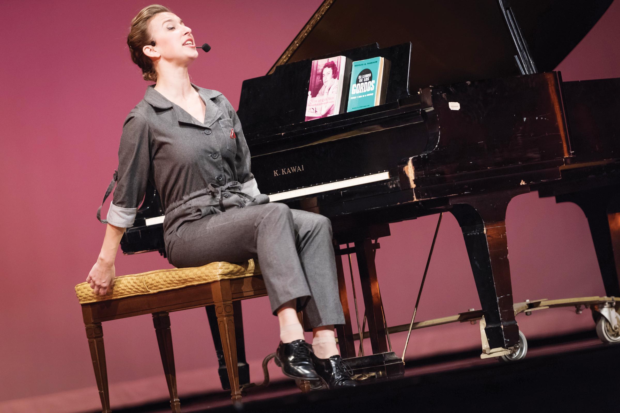 'Christiane. Un bio-musical científico' se presenta en Washington DC