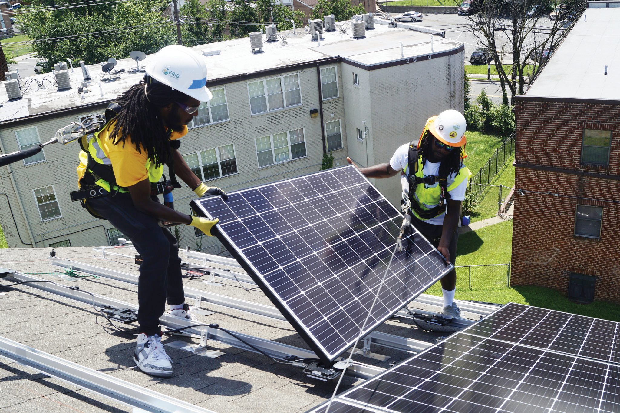 Paneles solares ganan terreno en DC