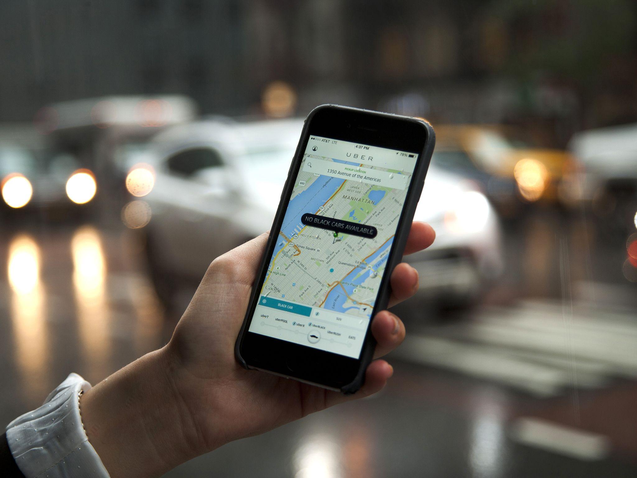 Uber implementa nueva función de seguridad