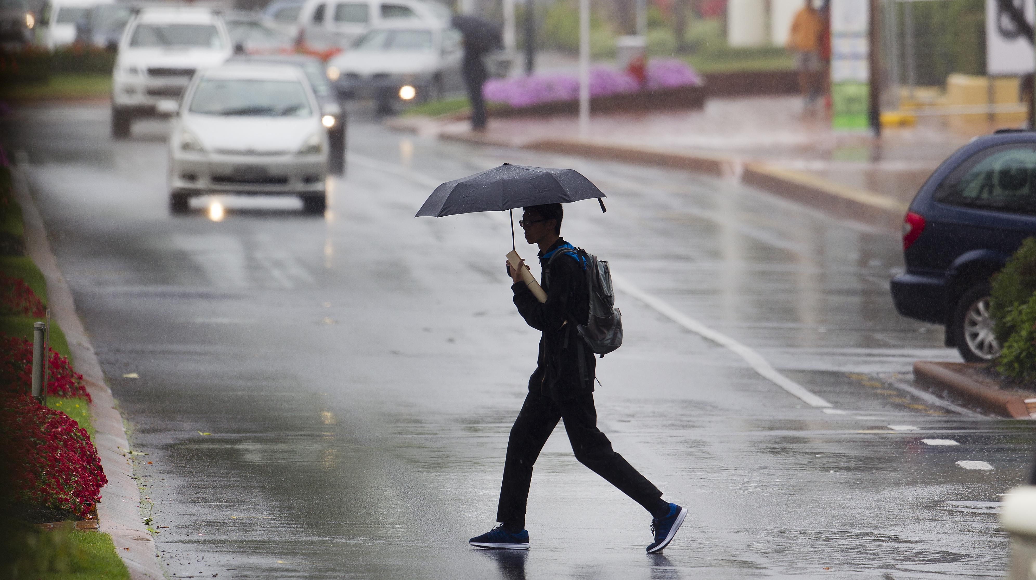 Incluso la lluvia ligera aumenta el riesgo de un accidente automovilístico mortal