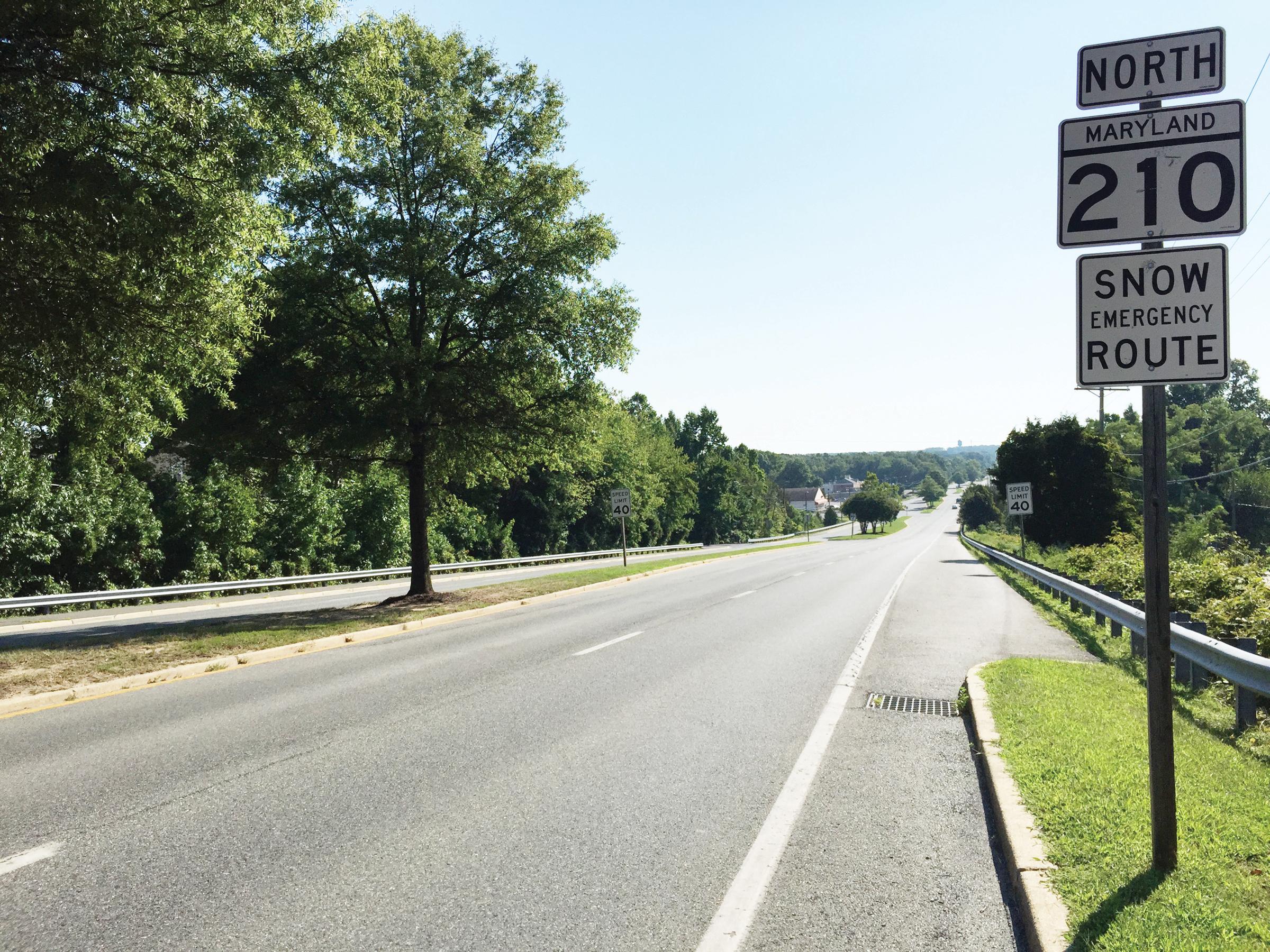Instalan cámaras de velocidad en autopista de Maryland