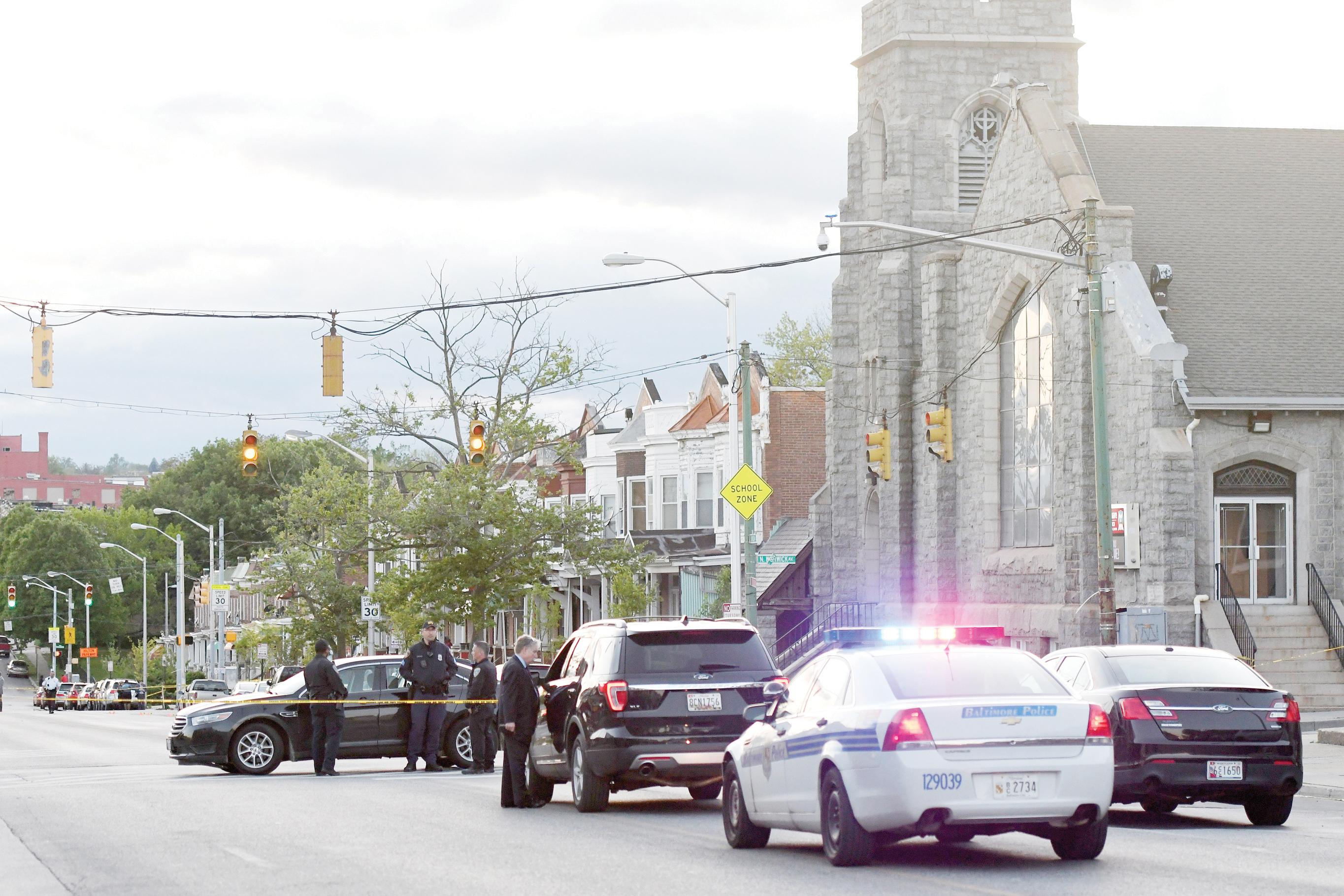 Un muerto y siete heridos por balacera en Baltimore
