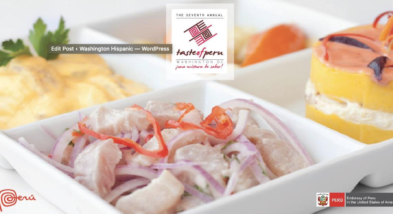 Destacados chefs llegan al Taste of Peru Washington DC 2019