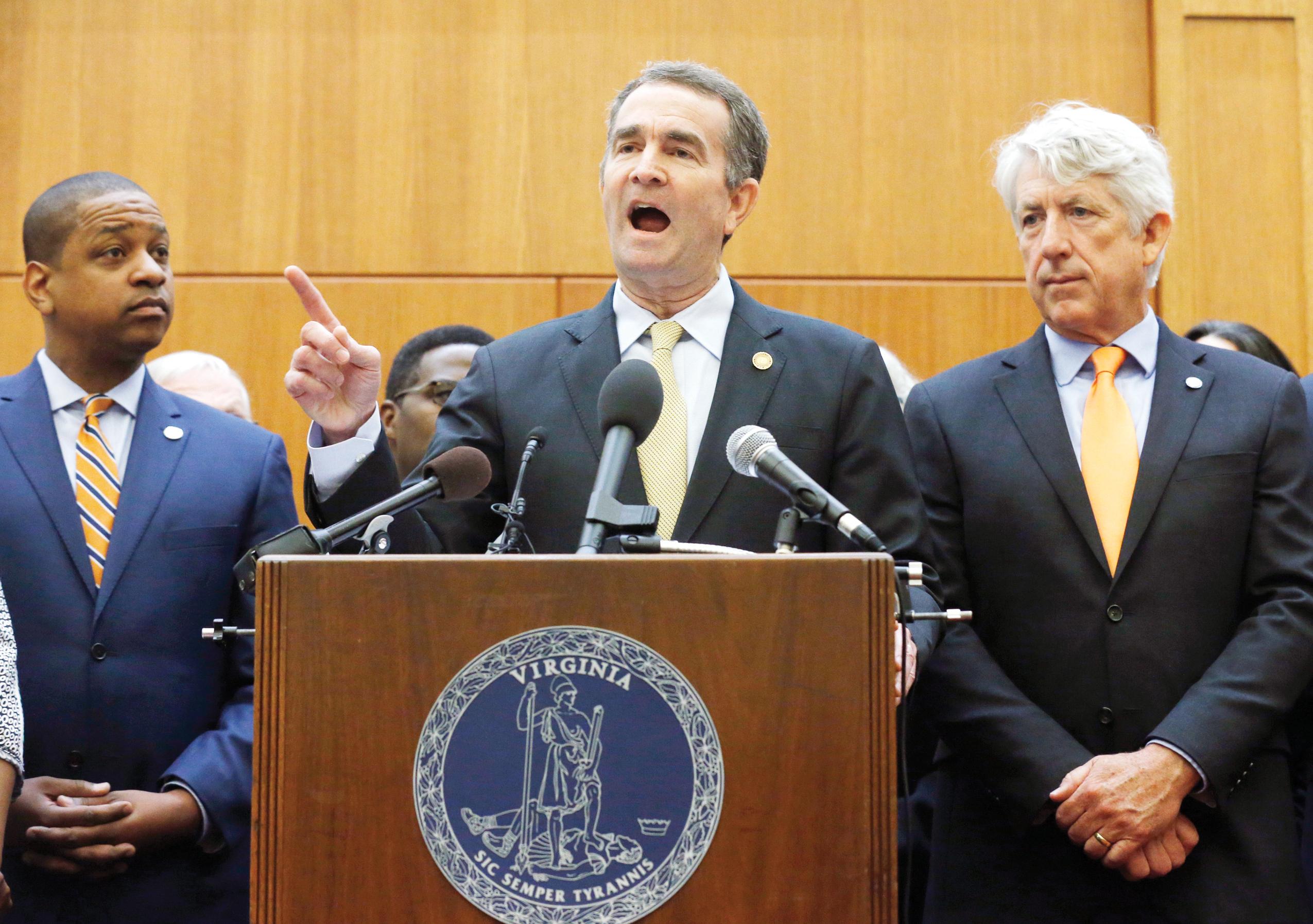 Control de armas al debate en el Congreso de Virginia