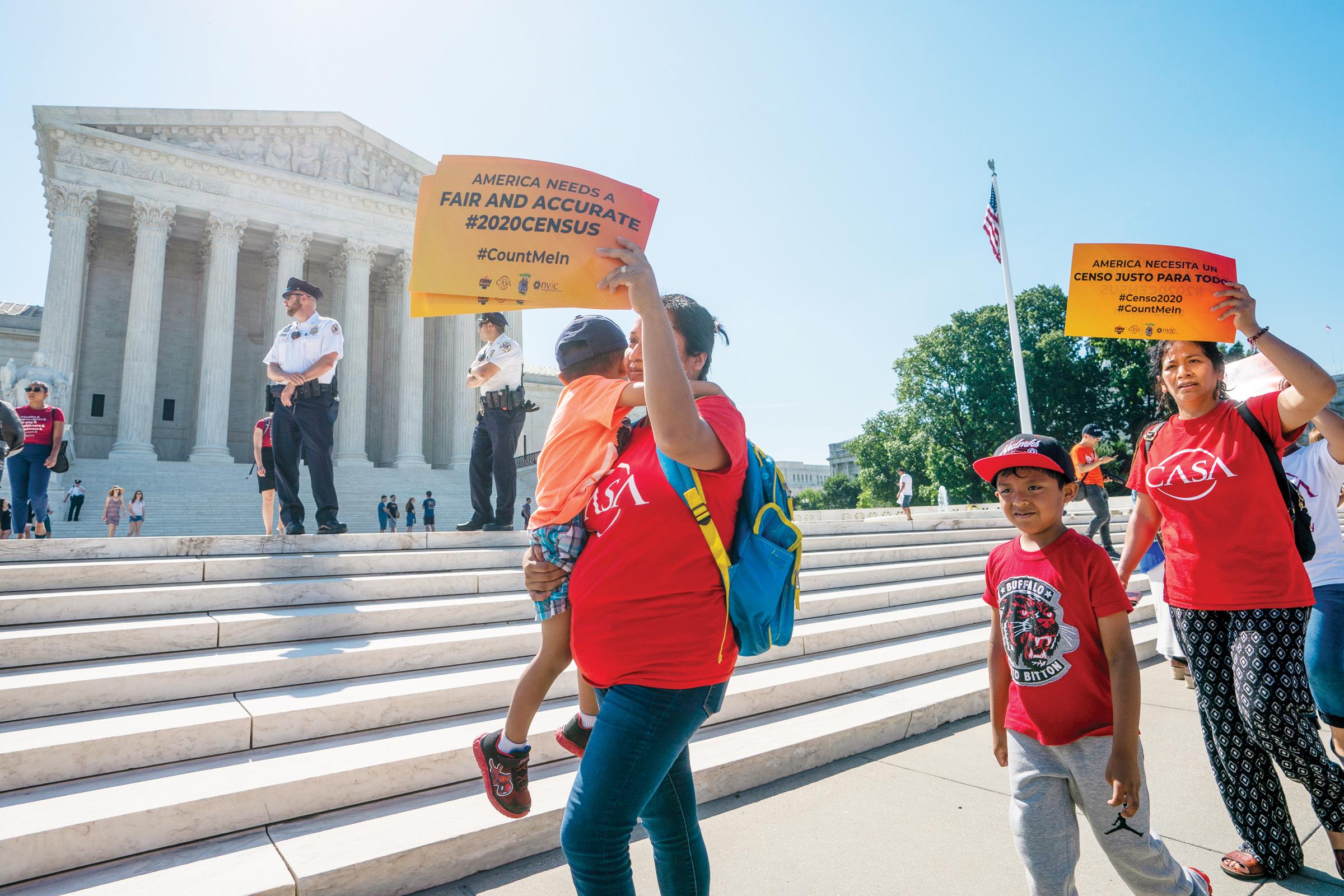 Corte Suprema bloquea pregunta de ciudadanía en censo