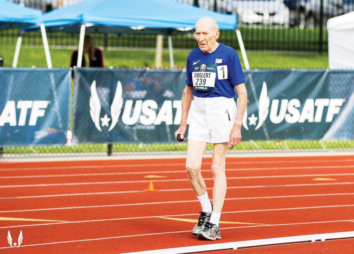 Corredor de 96 años bate récord mundial