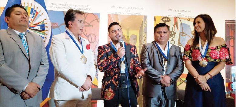 PANC condecora a Susan Ochoa  y reconoce a personalidades