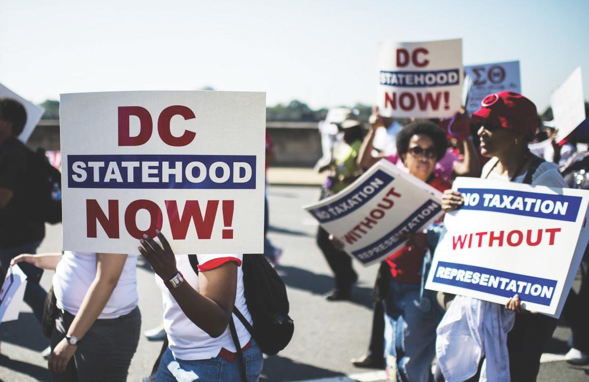 Mayoría de Americanos se oponen a la estadidad de DC