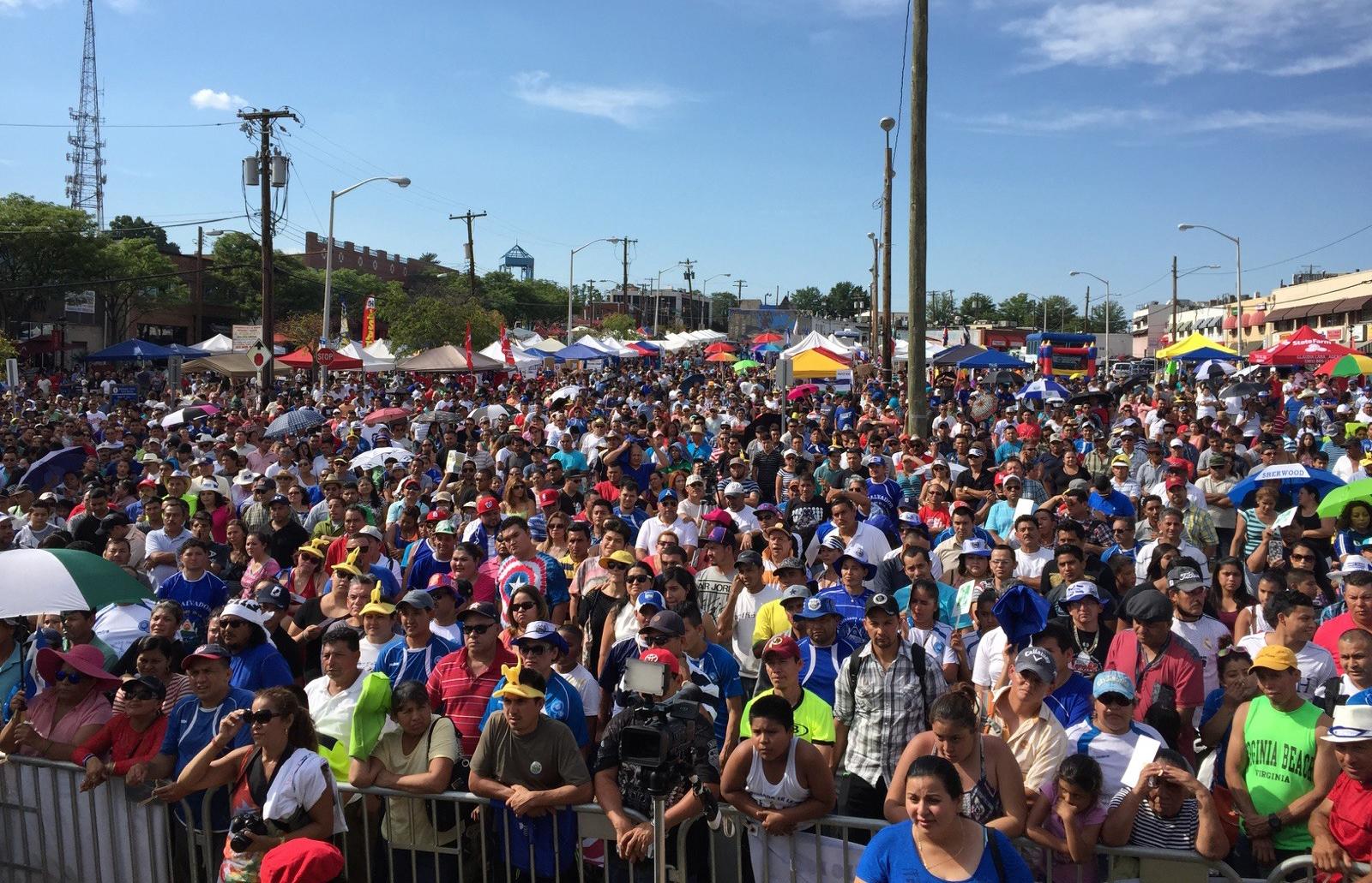 Todos al Festival Salvadoreño en Rockville