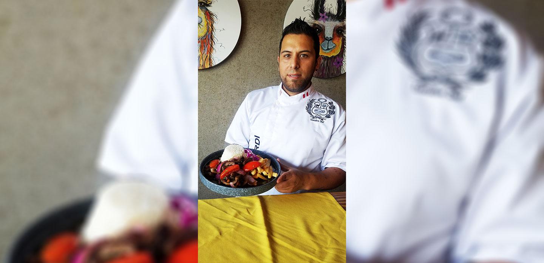El Chef Michael Ciuffardi Mackey en Inca Social