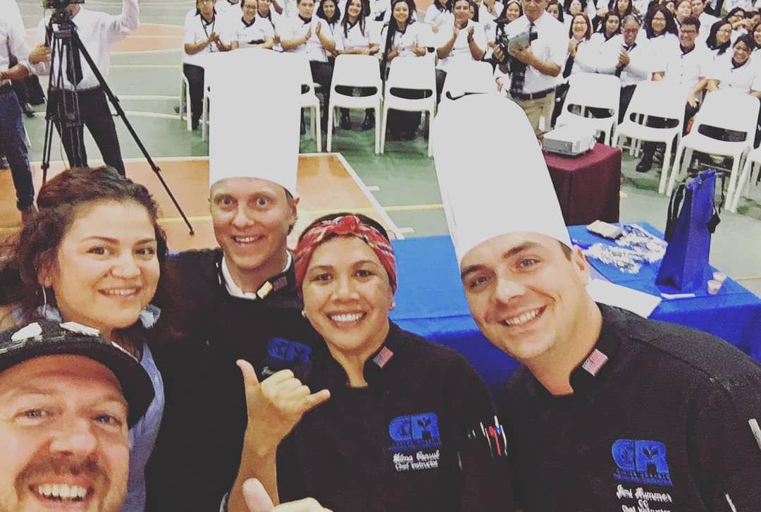Escuela Carlos Rosario  retorna tras histórica visita