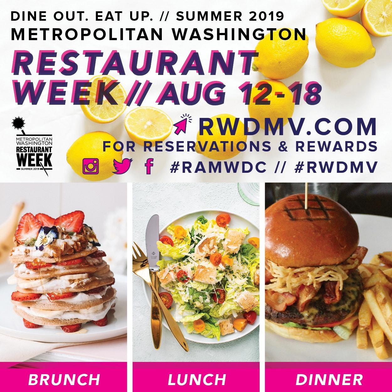 Metropolitan Washington Summer Restaurant Week