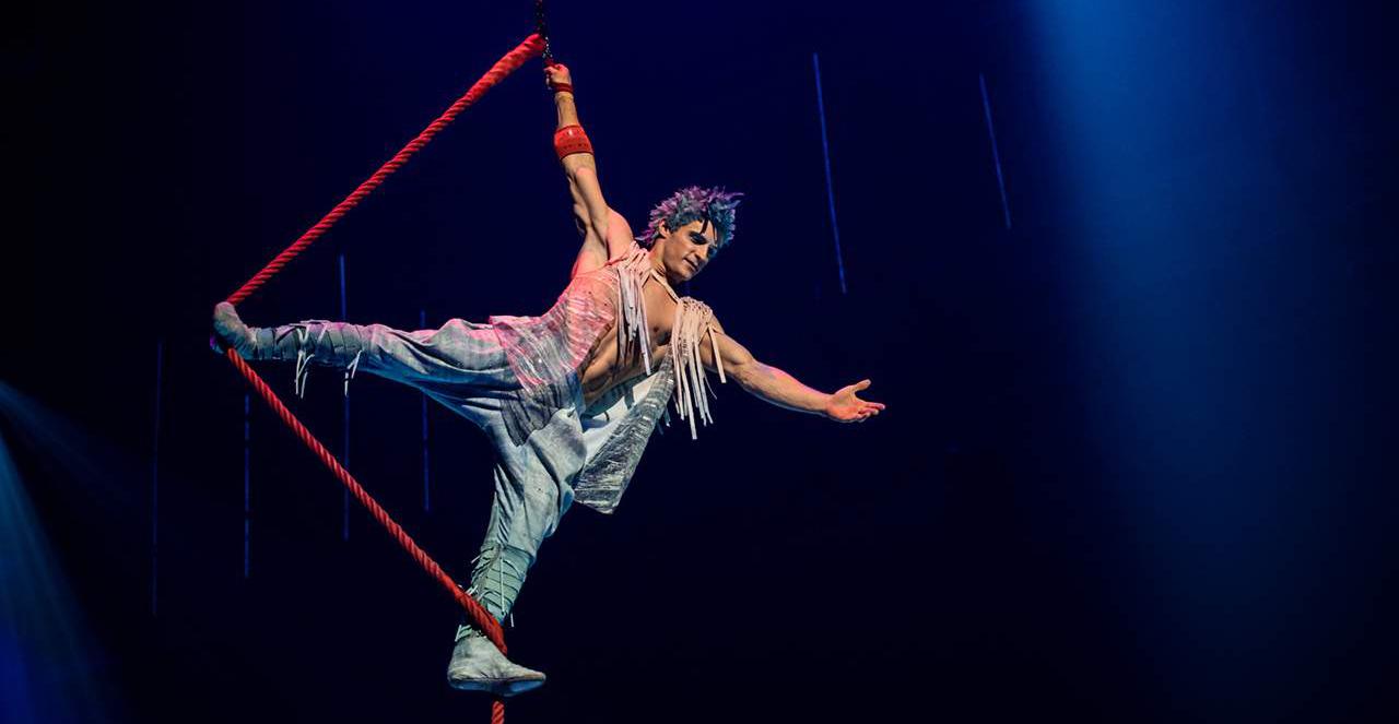 Cirque Du Soleil llega  con VOLTA