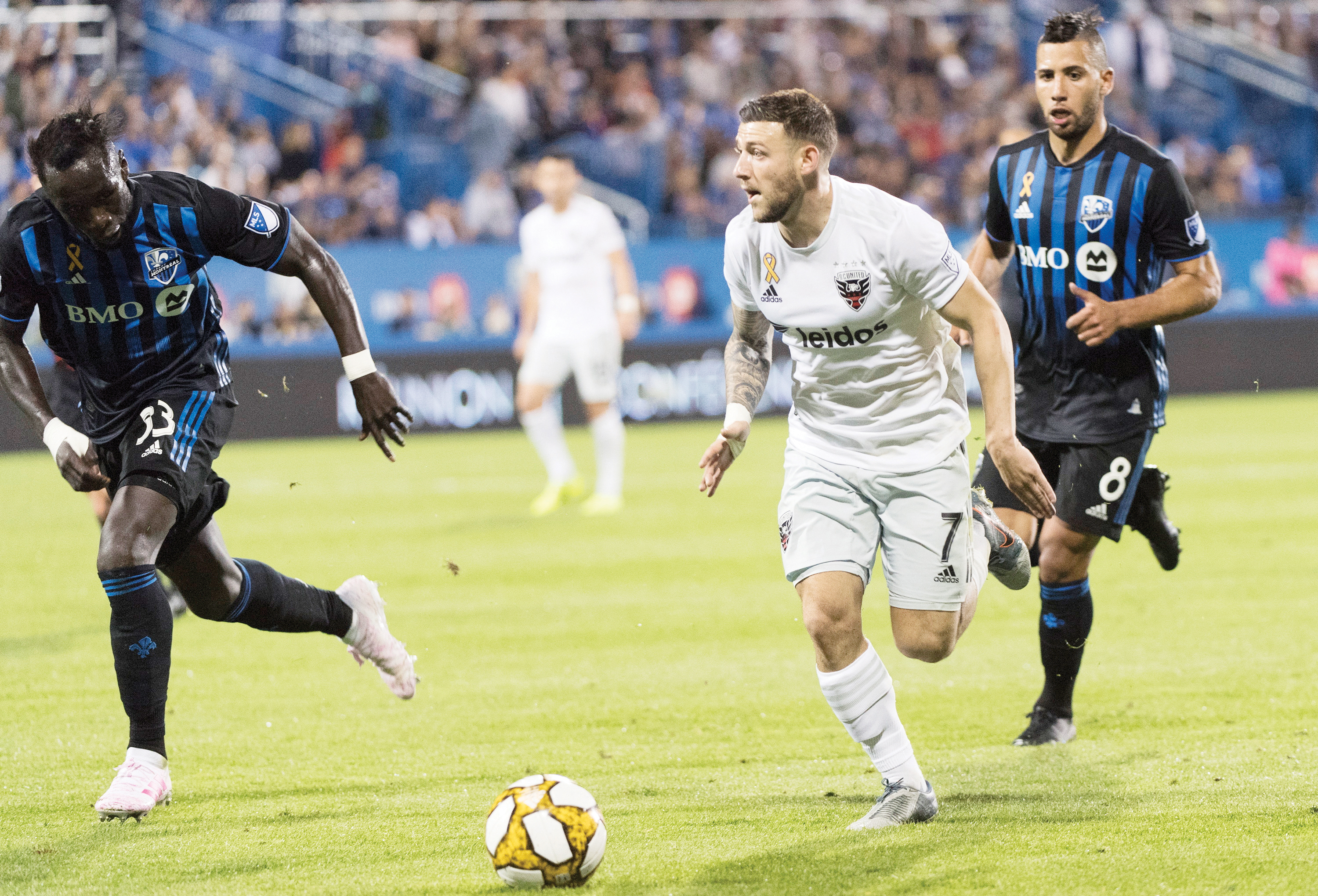 DC United blanquea a Montreal 3-0