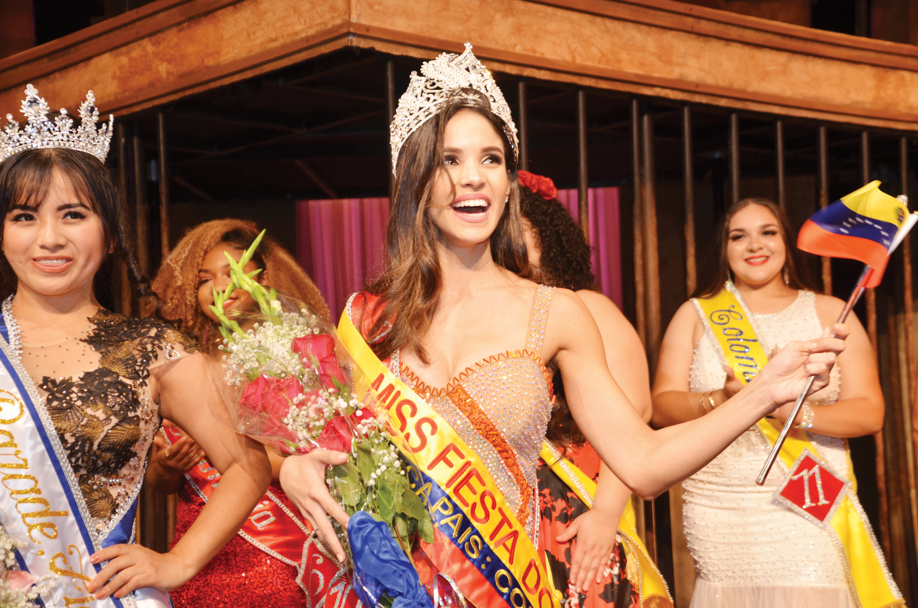 Venezolana  es reina de Fiesta DC