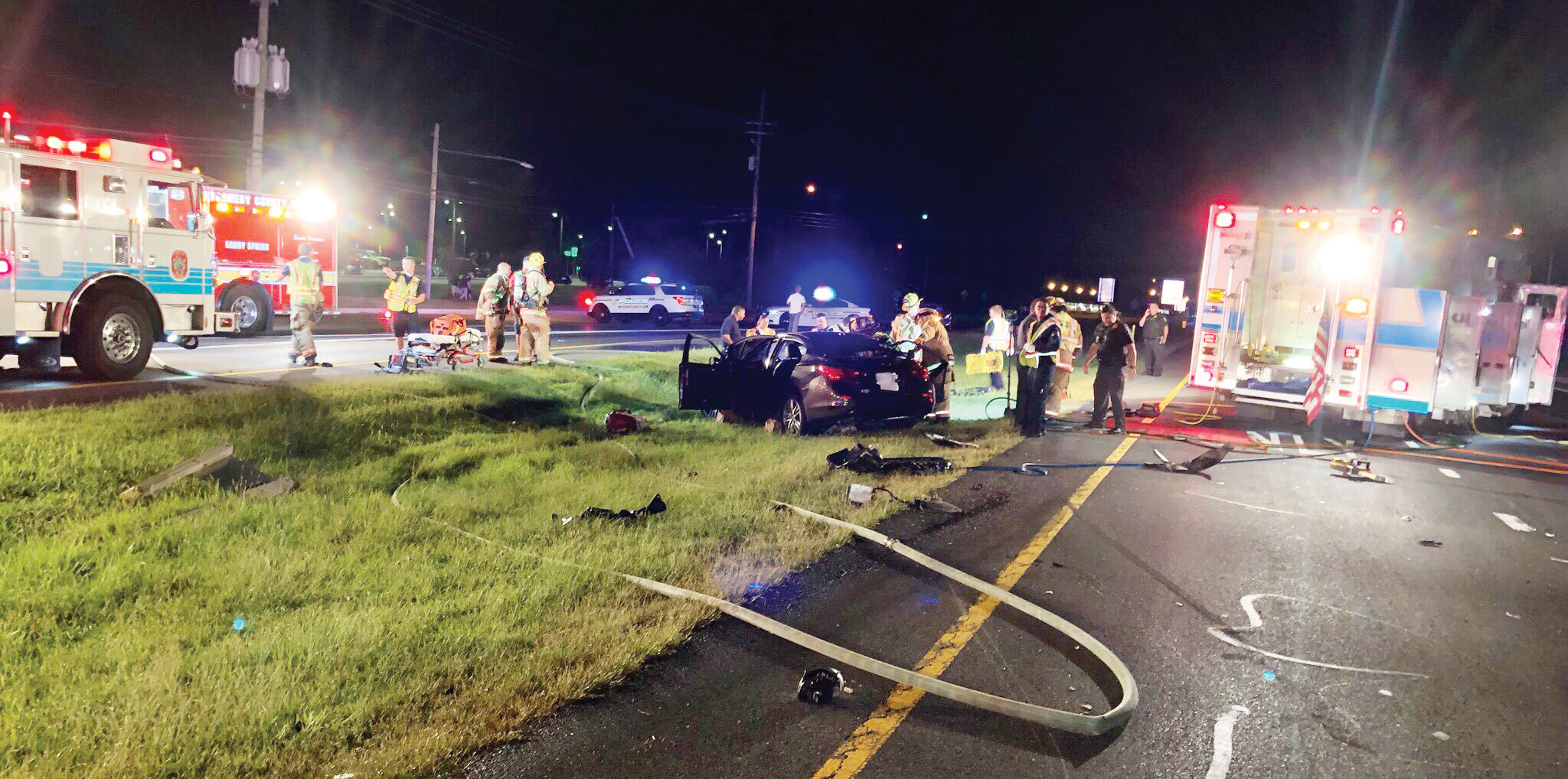 Accidente de carro fatal en Olney, MD