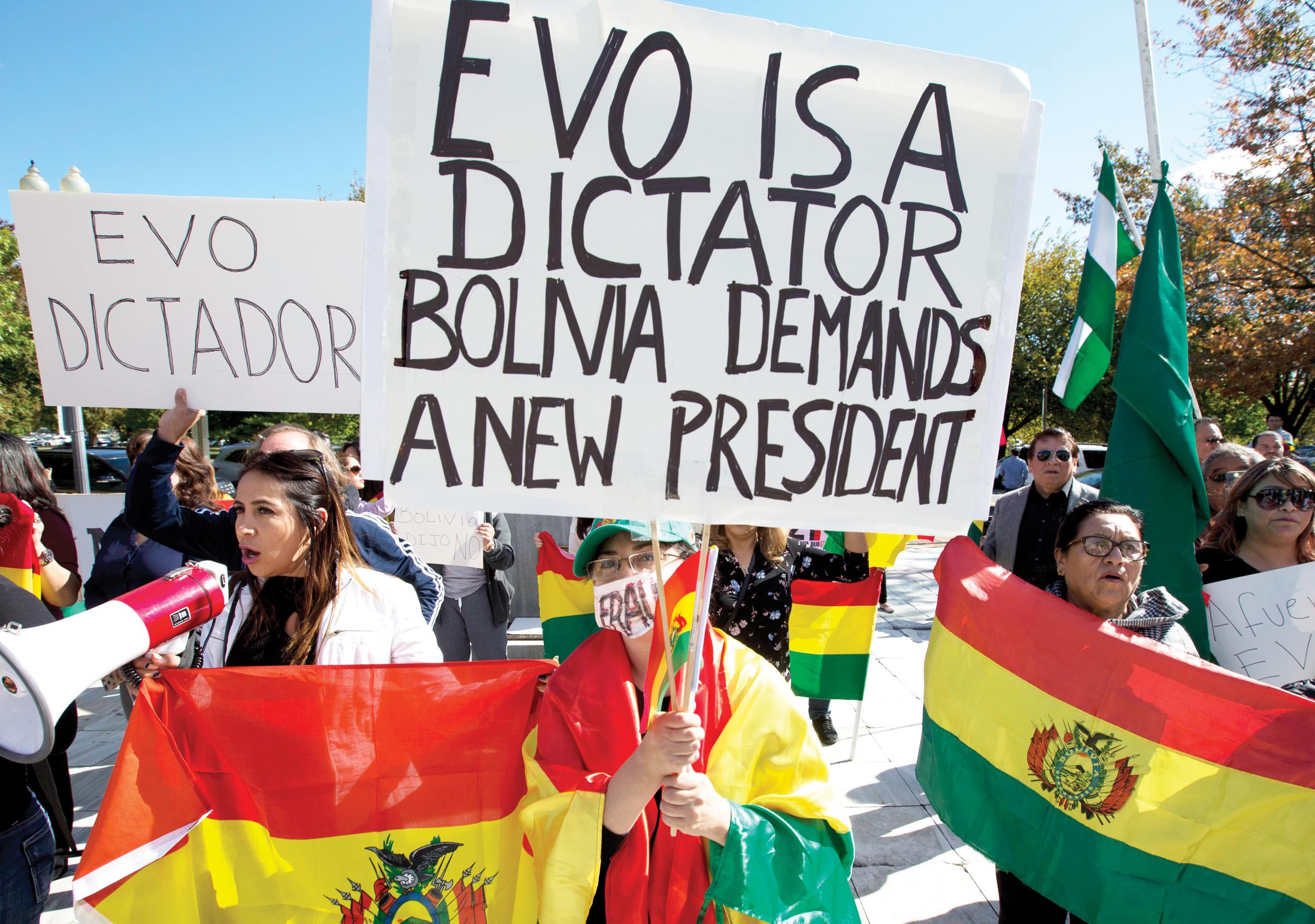 OEA pide segunda vuelta en Bolivia