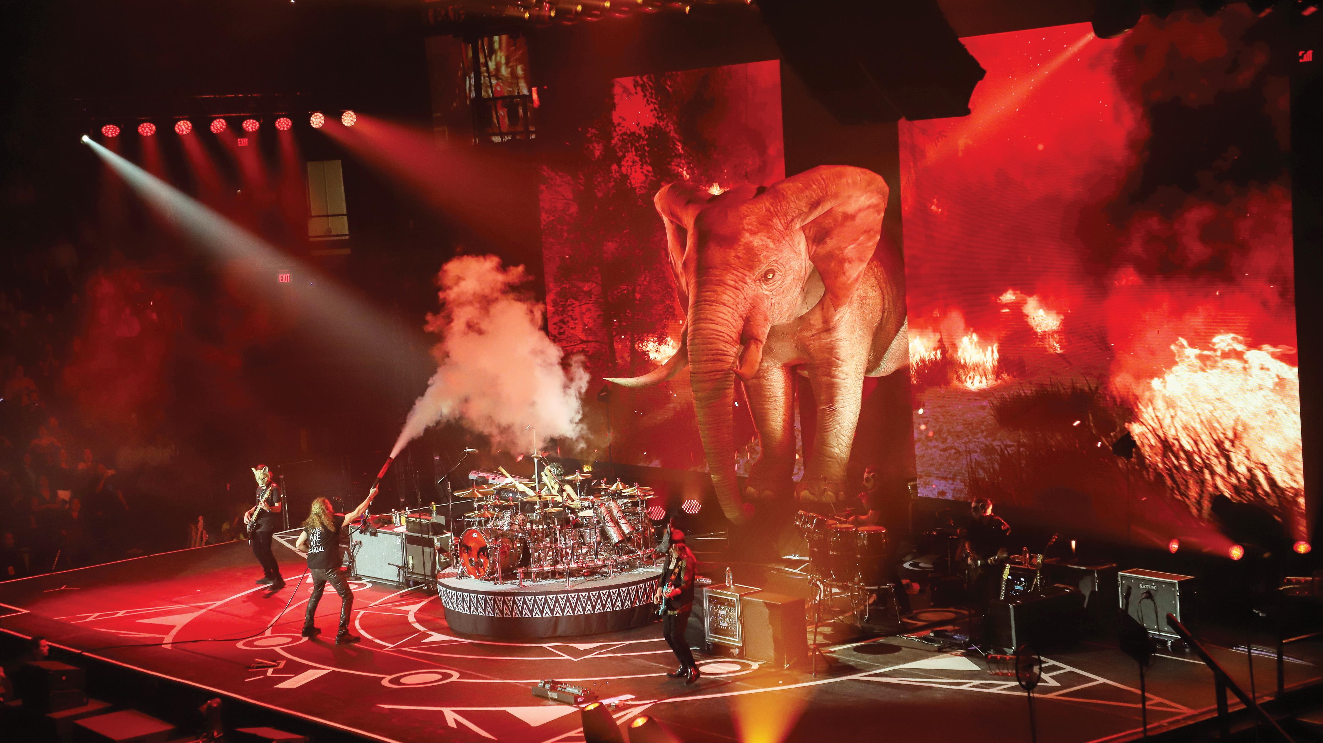 MANÁ brinda apoteósico concierto de Rock Latino