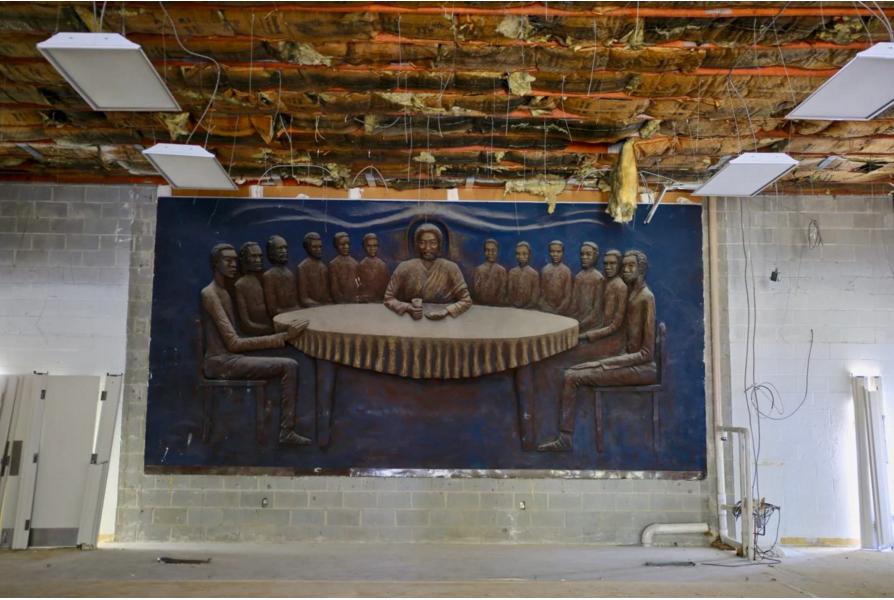 Encuentran escultura de Cristo Negro en DC