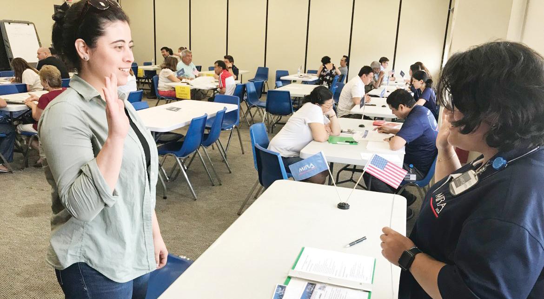 Realizan taller de ciudadanía en Maryland