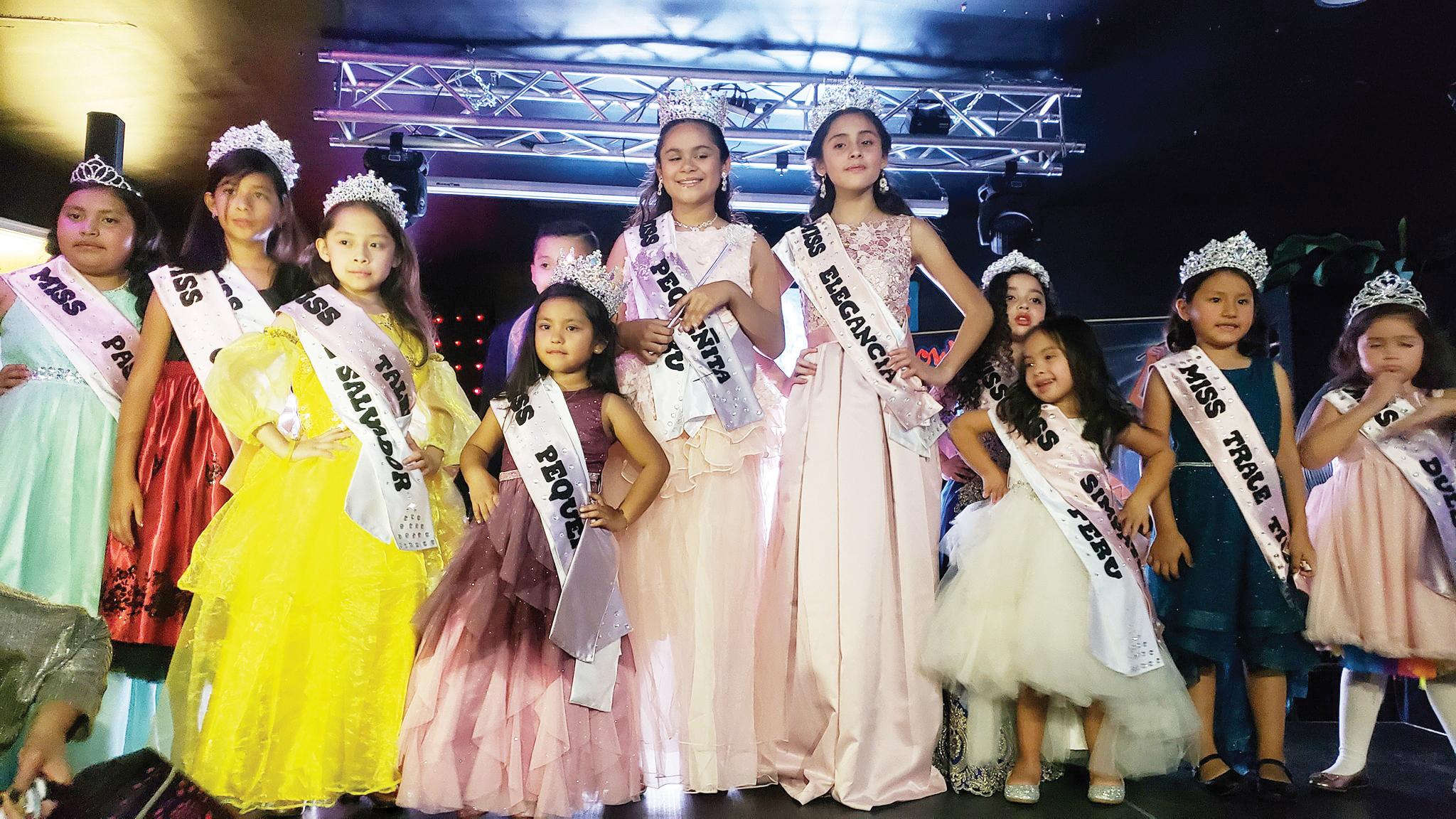 Miss Pequeñita Internacional  2019 tiene dos bellas reinas