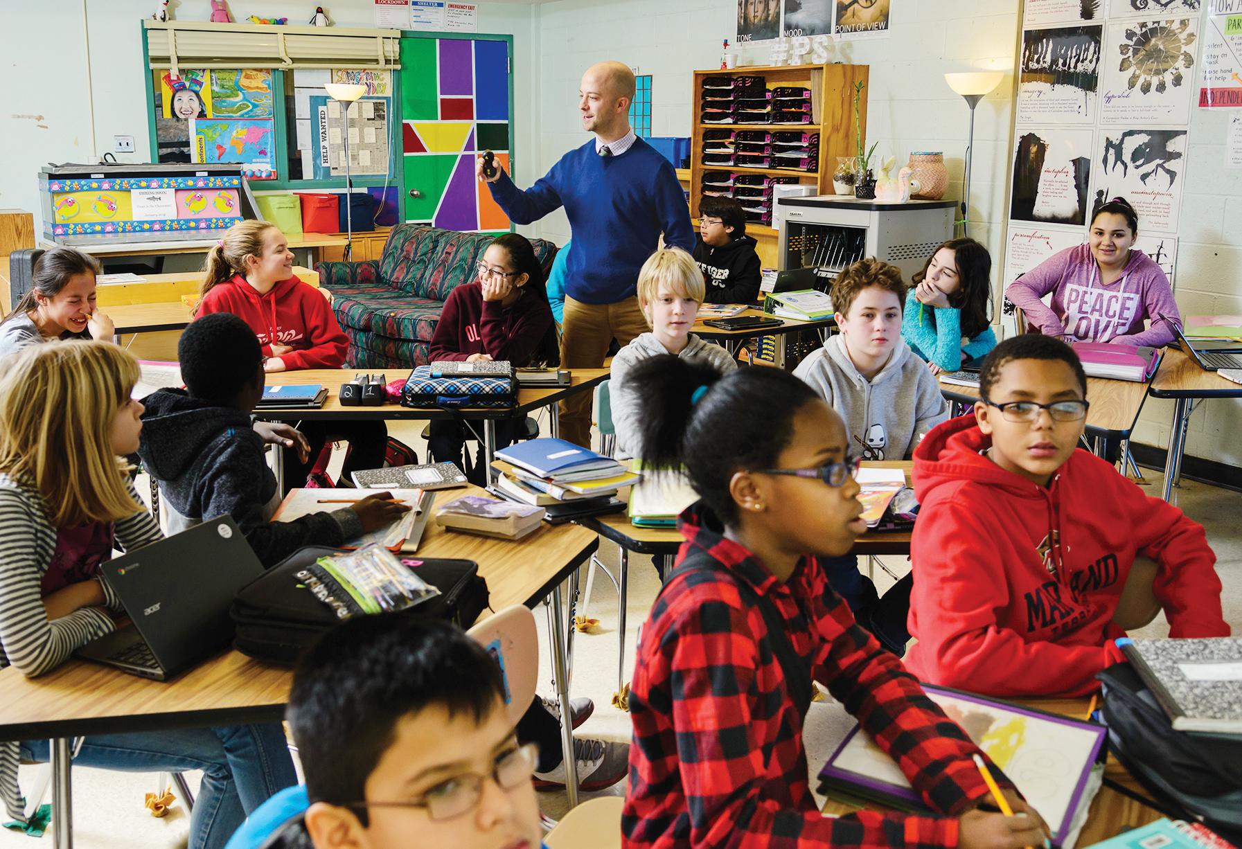 Récord de estudiantes en Montgomery